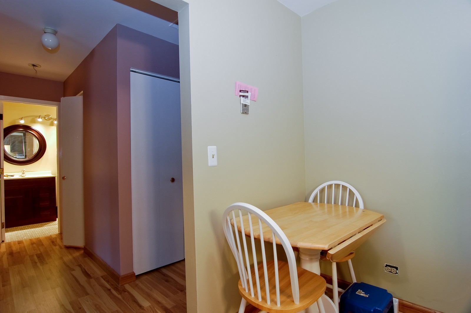 Real Estate Photography - 640 Perrie Dr, Unit 301, Elk Grove Village, IL, 60007 - Breakfast Nook