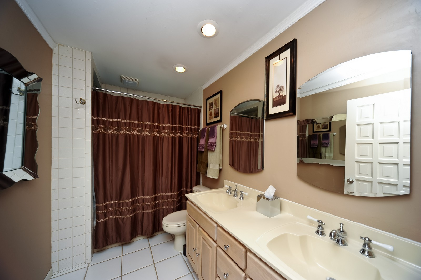 Real Estate Photography - 3 E Hintz, Arlington Heights, IL, 60004 - Master Bathroom