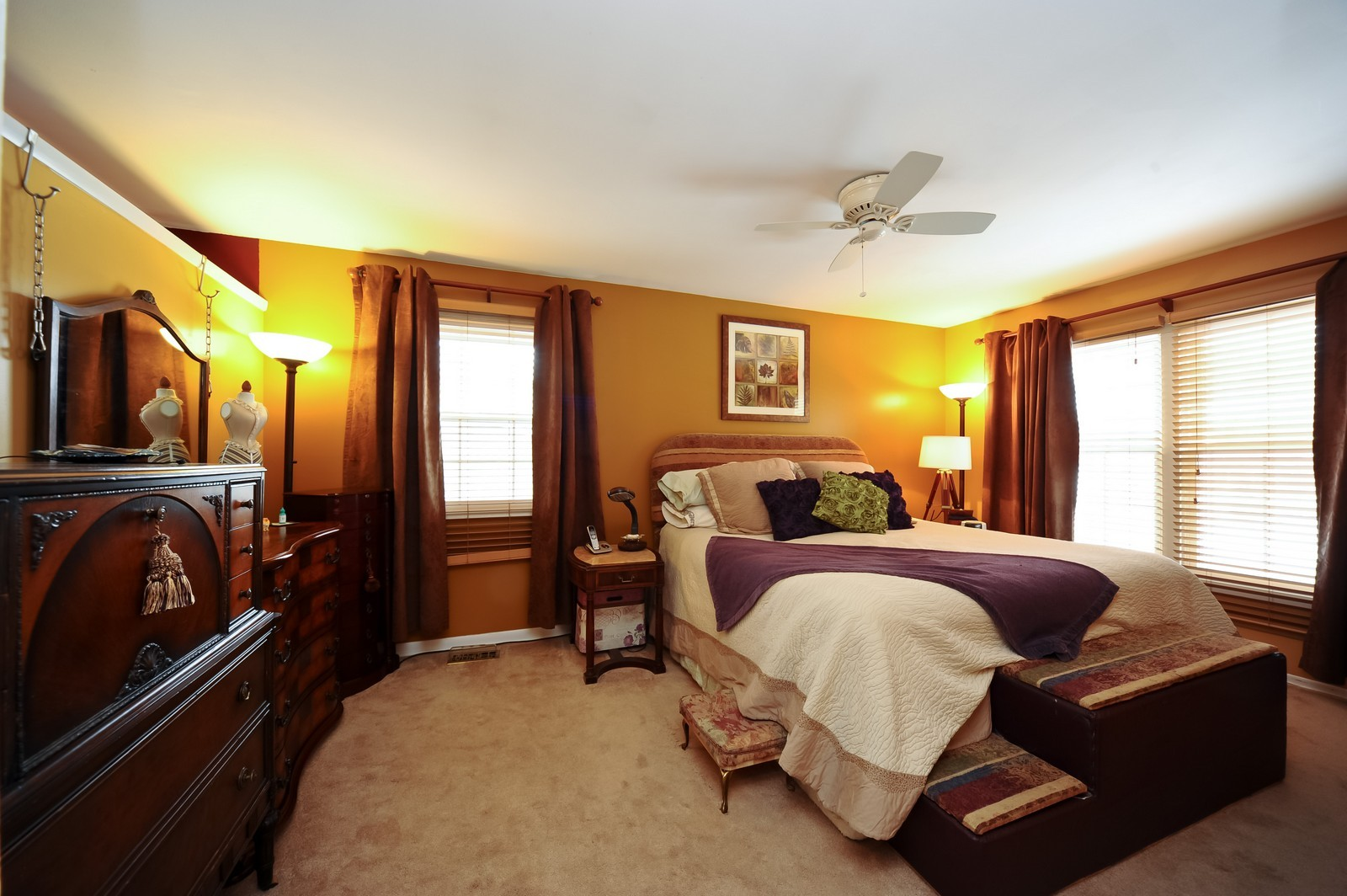 Real Estate Photography - 3 E Hintz, Arlington Heights, IL, 60004 - Master Bedroom