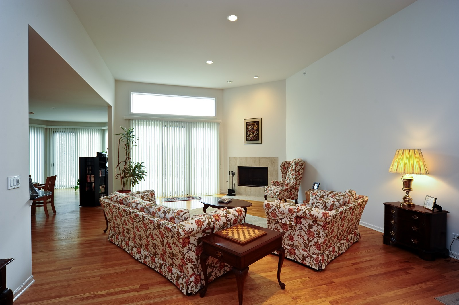 Real Estate Photography - 880 Spyglass, Highland Park, IL, 60035 - Living Room