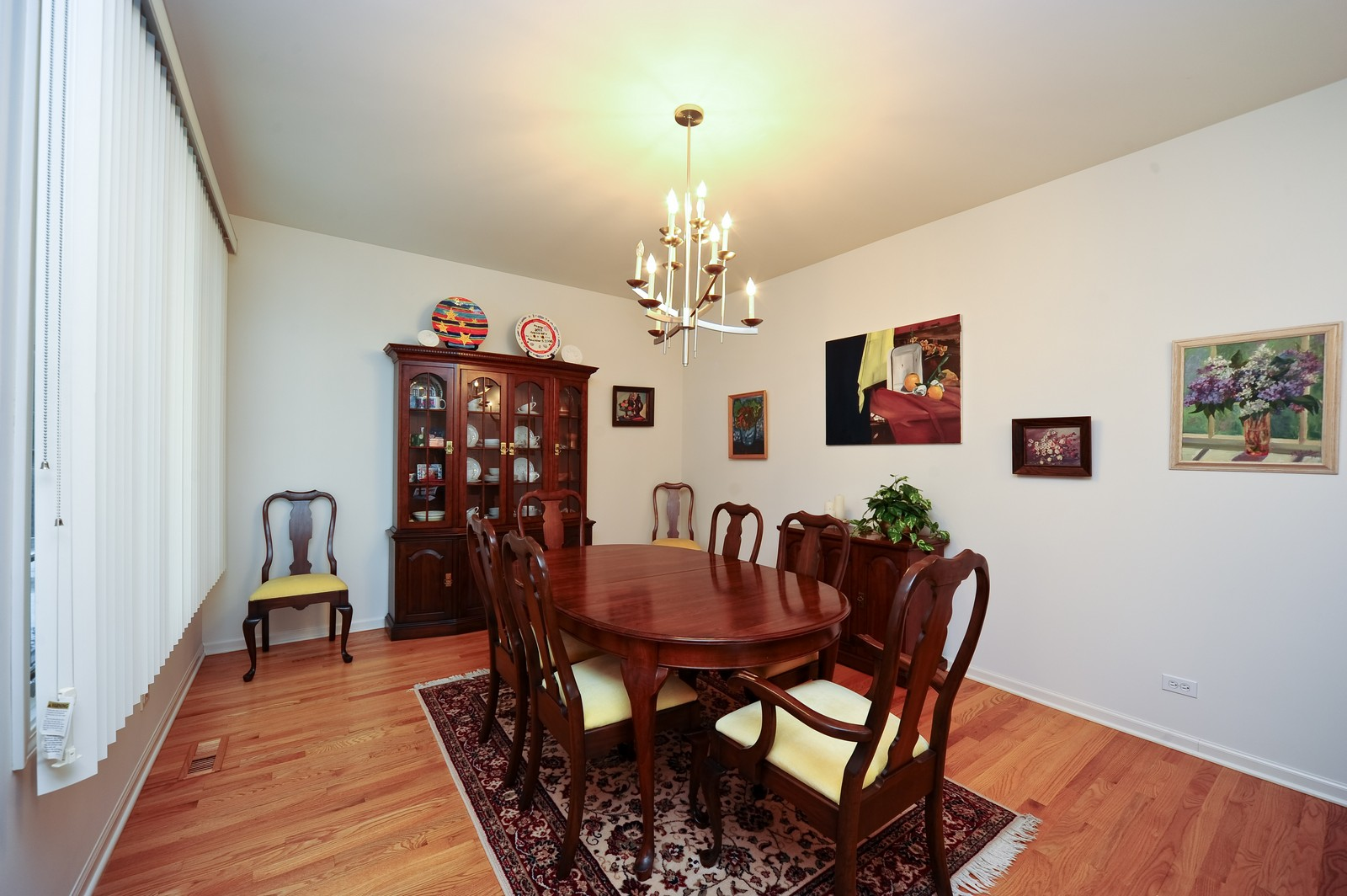 Real Estate Photography - 880 Spyglass, Highland Park, IL, 60035 - Dining Room