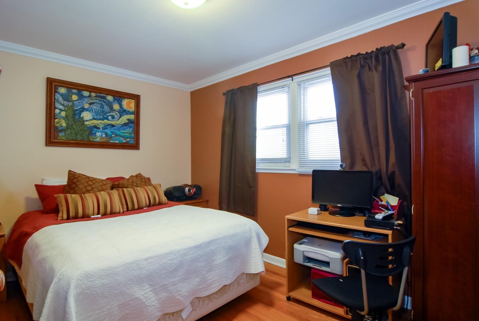 Real Estate Photography - 4435 Keokuk, Chicago, IL, 60630 - Master Bedroom