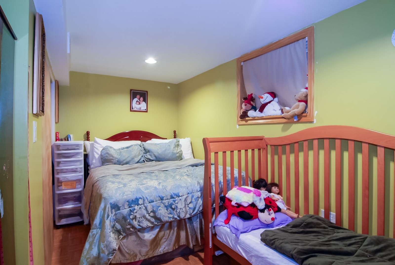 Real Estate Photography - 4435 Keokuk, Chicago, IL, 60630 - 3rd Bedroom