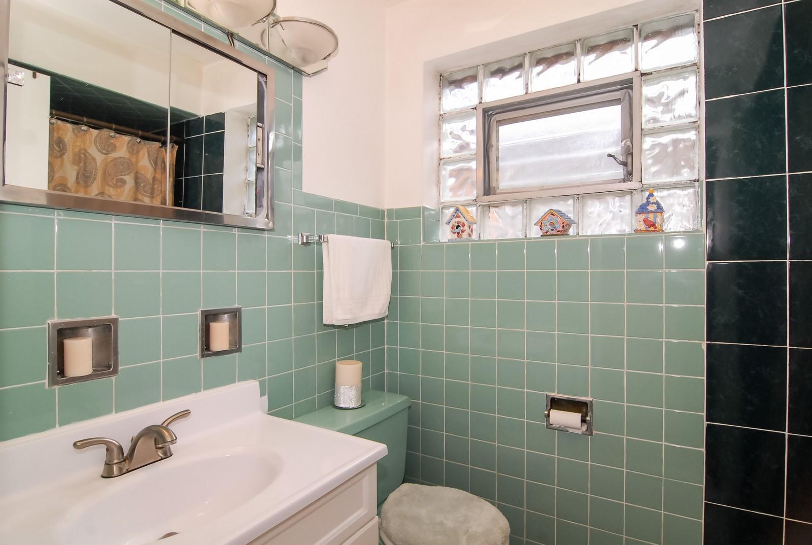 Real Estate Photography - 4435 Keokuk, Chicago, IL, 60630 - Bathroom