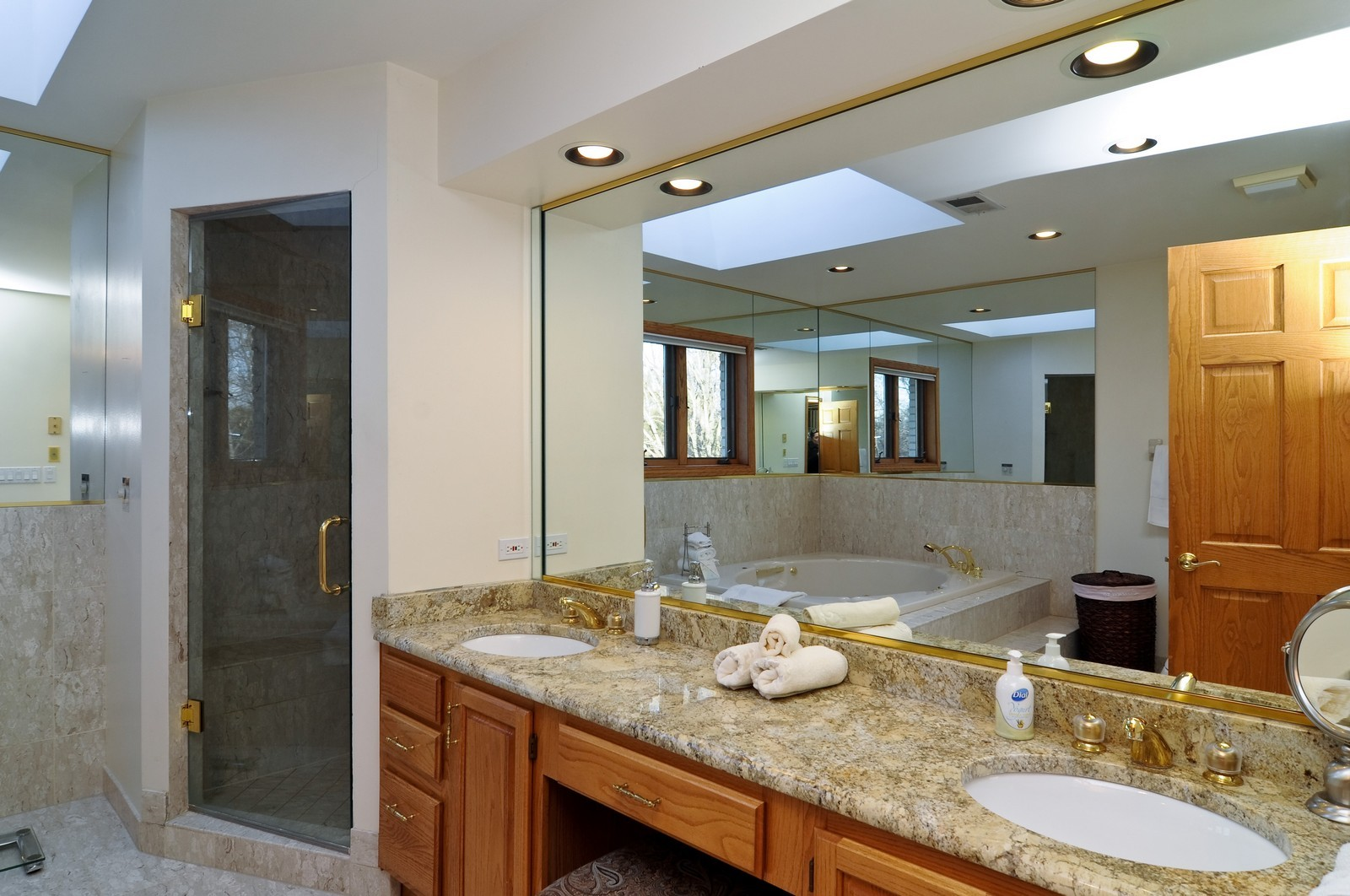 Real Estate Photography - 1181 Fairview Ln, Long Grove, IL, 60047 - Master Bathroom