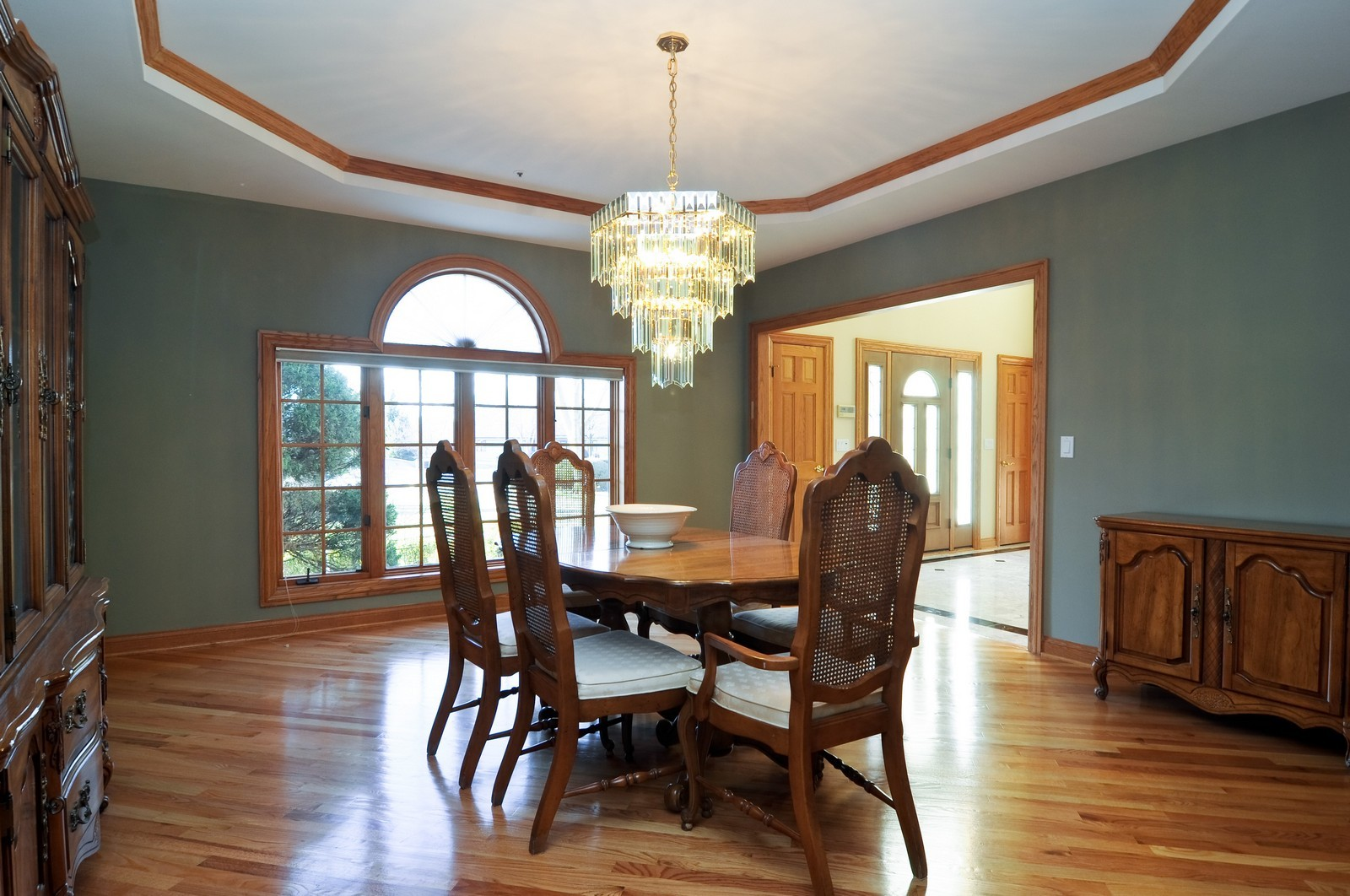 Real Estate Photography - 1181 Fairview Ln, Long Grove, IL, 60047 - Dining Room