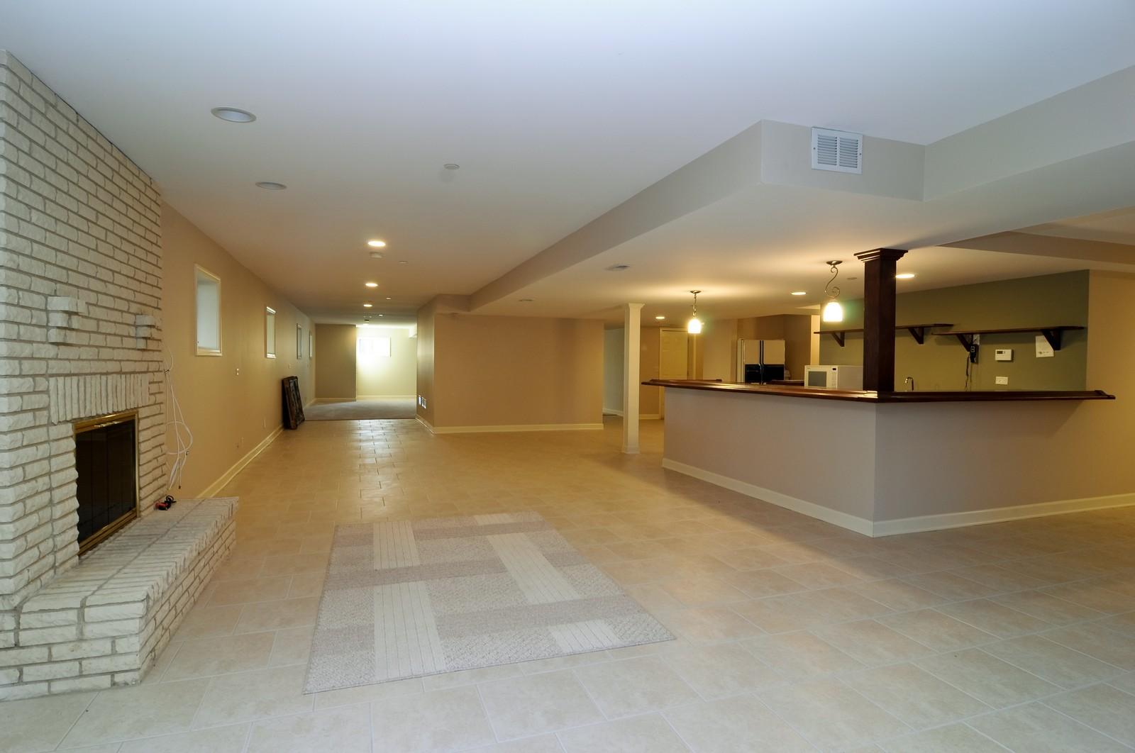 Real Estate Photography - 1181 Fairview Ln, Long Grove, IL, 60047 - Basement