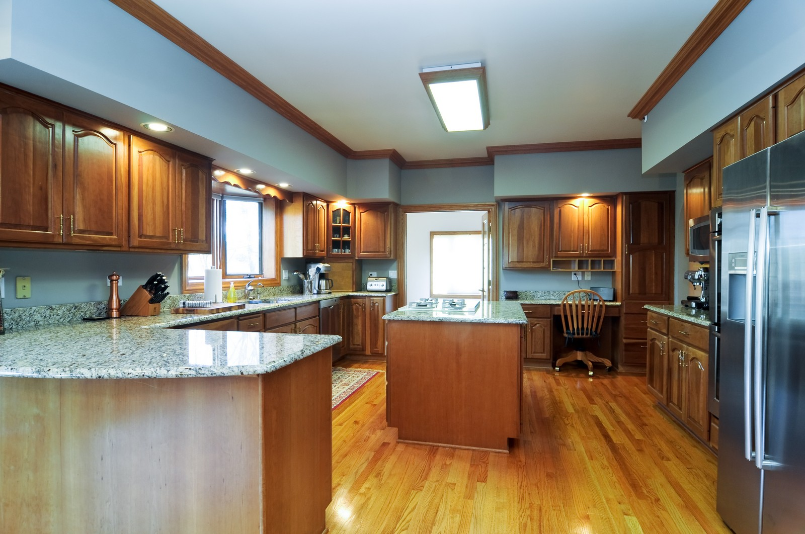 Real Estate Photography - 1181 Fairview Ln, Long Grove, IL, 60047 - Kitchen