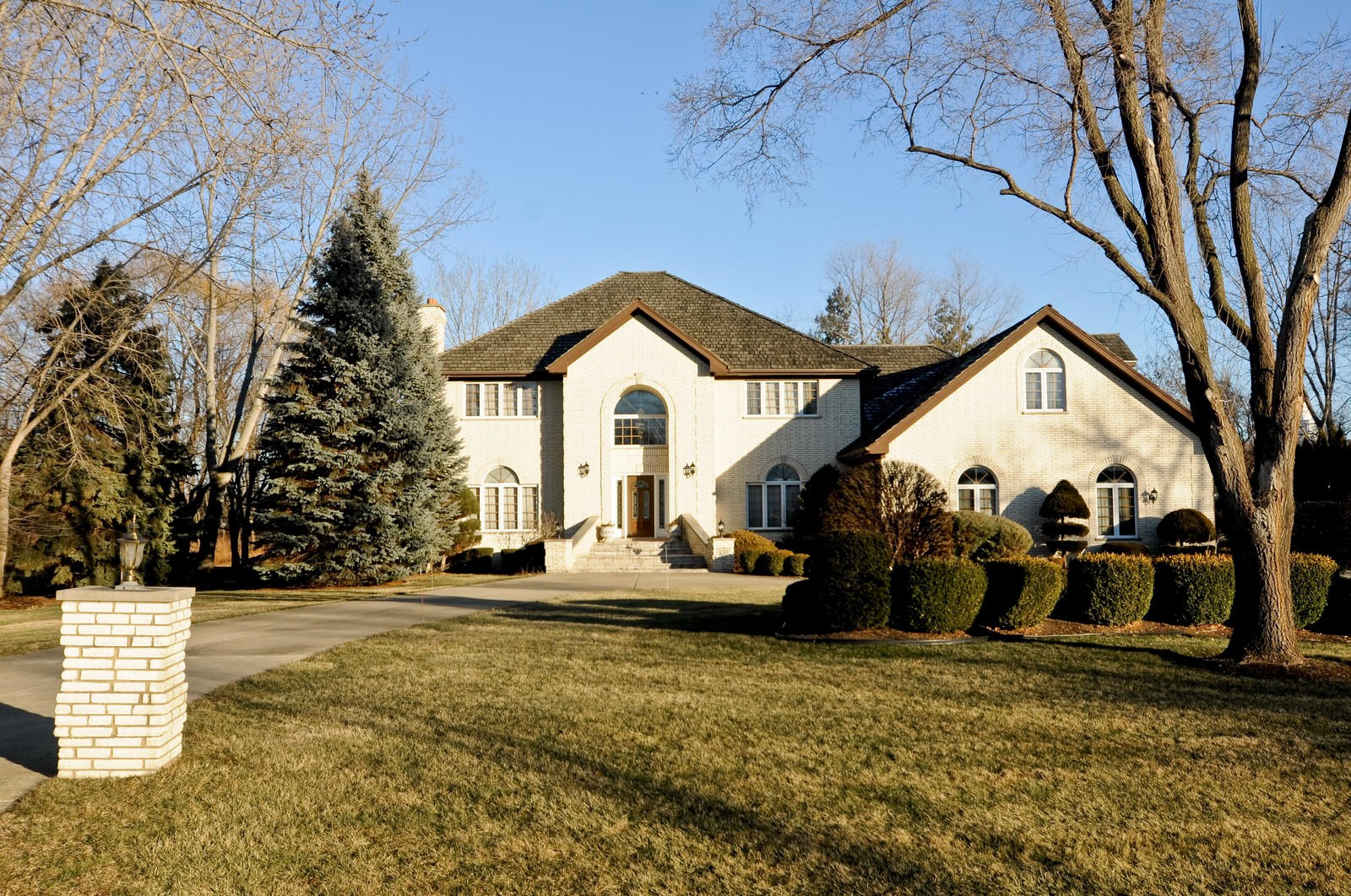 Real Estate Photography - 1181 Fairview Ln, Long Grove, IL, 60047 - Front View