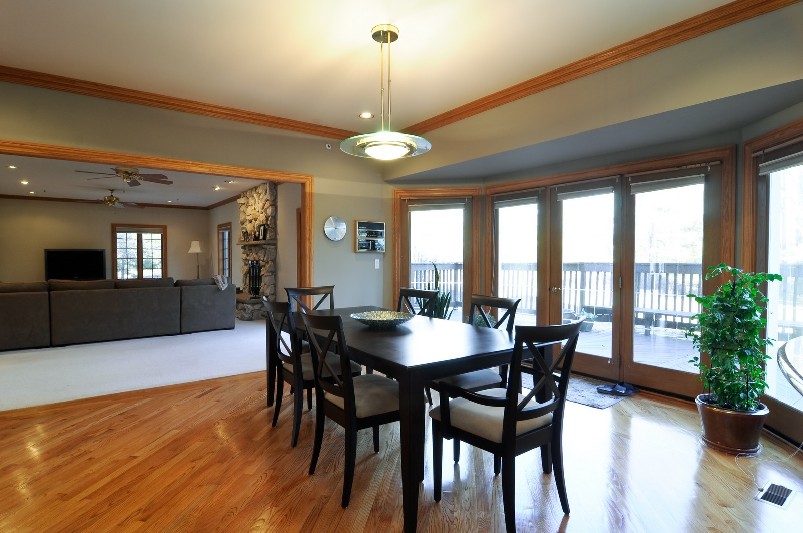 Real Estate Photography - 1181 Fairview Ln, Long Grove, IL, 60047 - Breakfast Nook