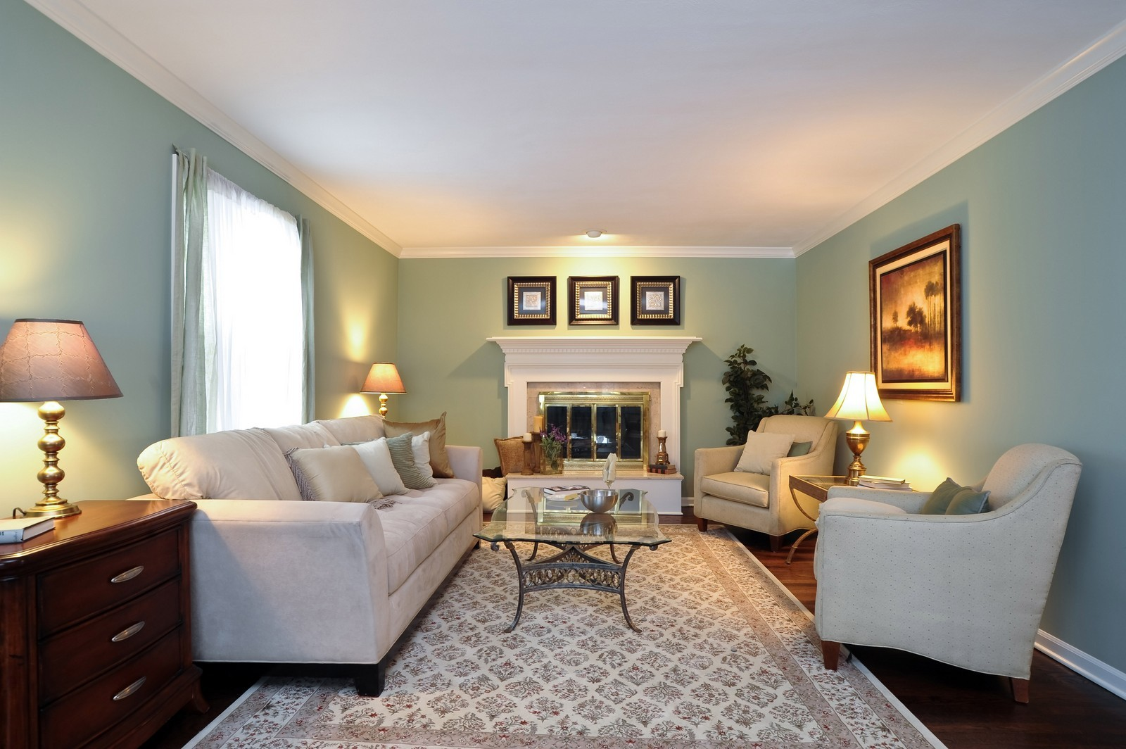 Real Estate Photography - 251 Grandview Ave., Glen Ellyn, IL, 60137 - Living Room