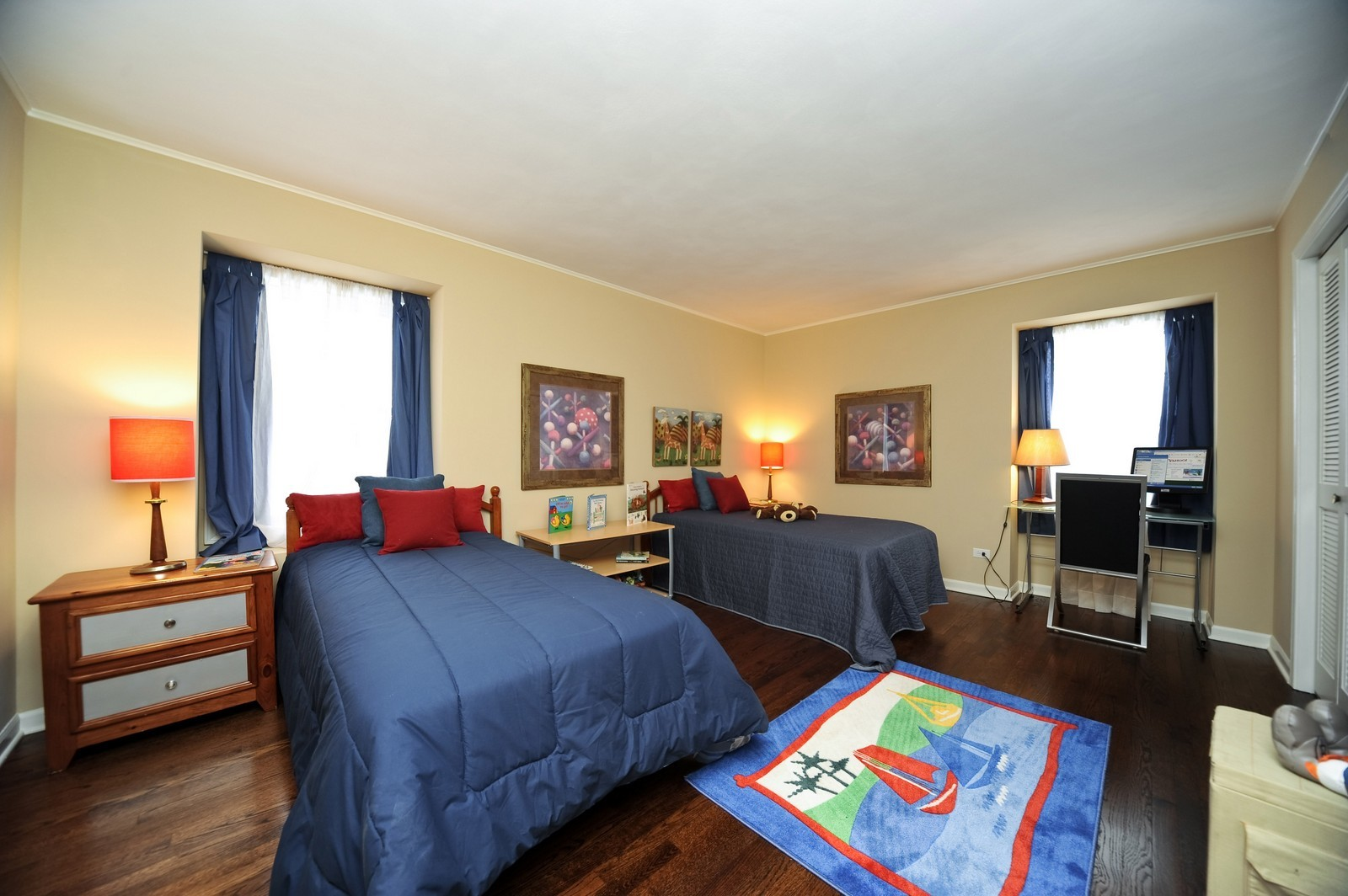 Real Estate Photography - 251 Grandview Ave., Glen Ellyn, IL, 60137 - 3rd Bedroom