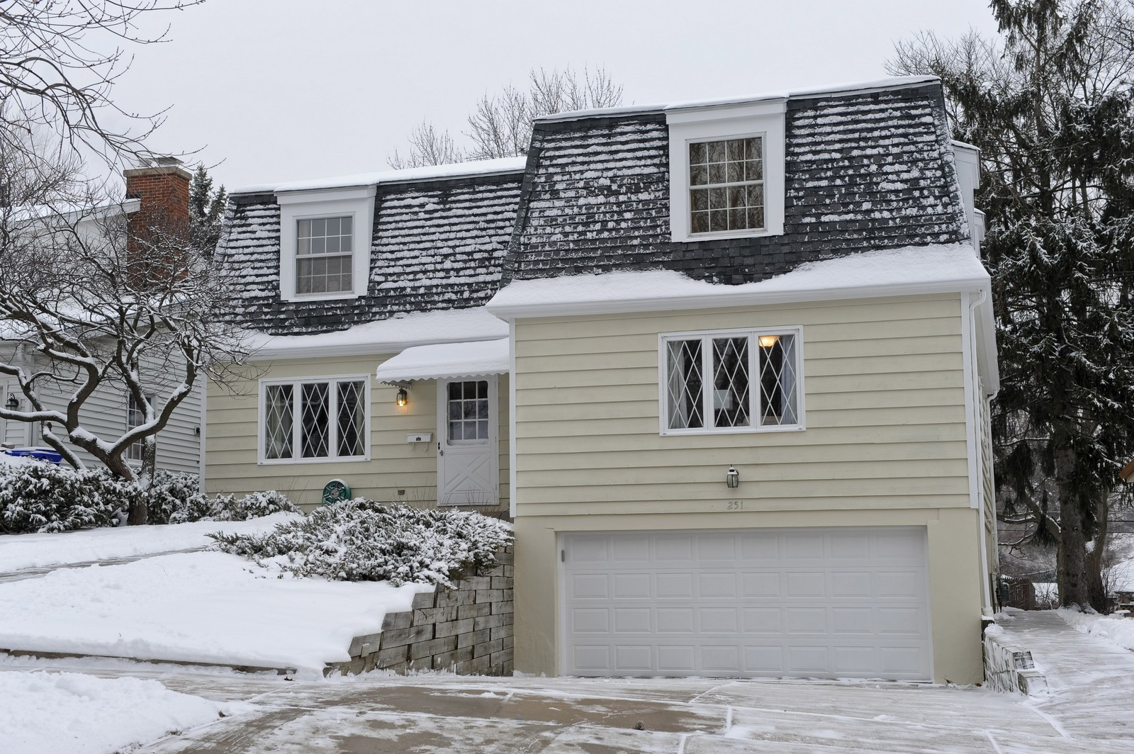 Real Estate Photography - 251 Grandview Ave., Glen Ellyn, IL, 60137 - Front View