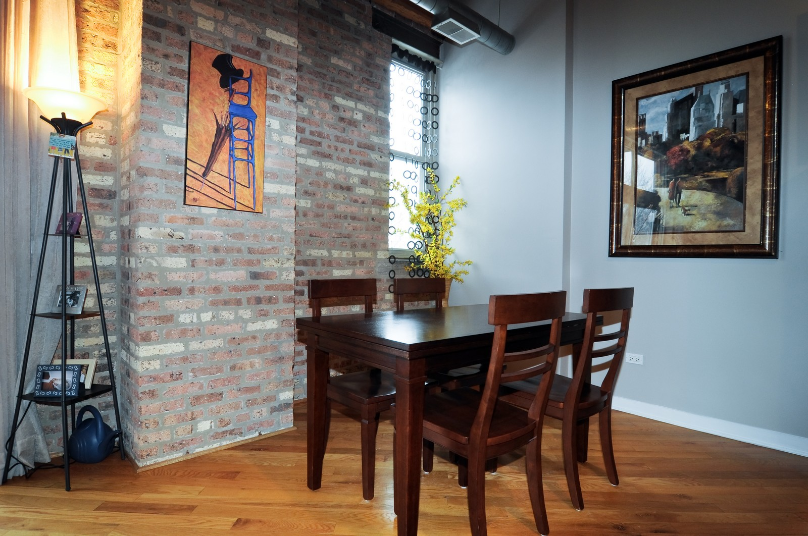 Real Estate Photography - 3900 N Claremont, Unit 205, Chicago, IL, 60618 - Dining Room