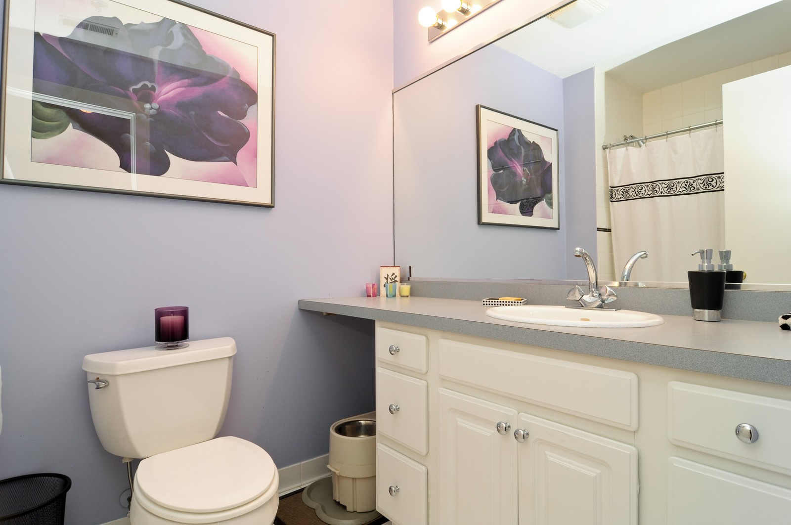 Real Estate Photography - 3900 N Claremont, Unit 205, Chicago, IL, 60618 - Bathroom