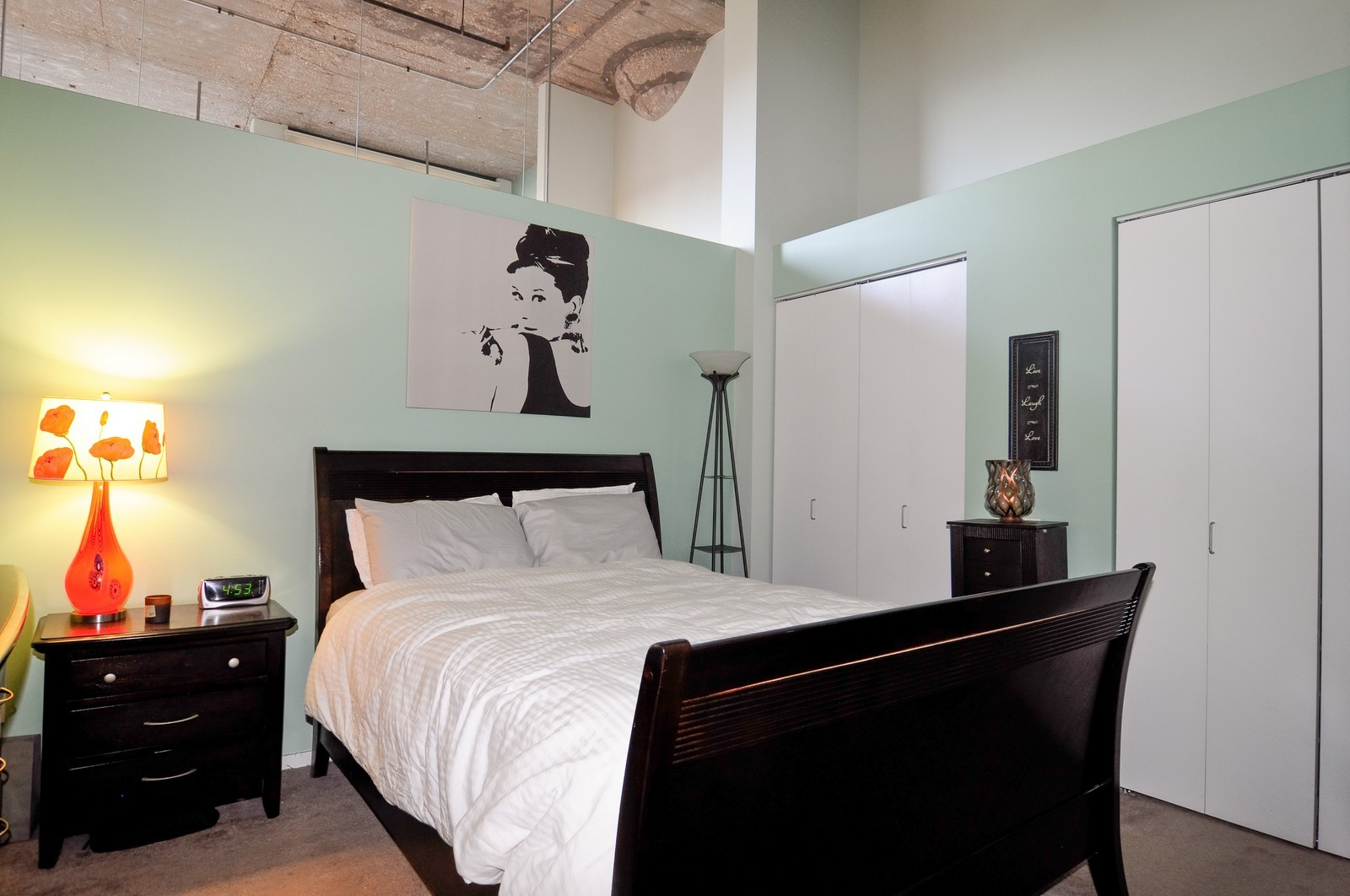 Real Estate Photography - 900 N Kingsbury, Unit 969, Chicago, IL, 60654 - Bedroom