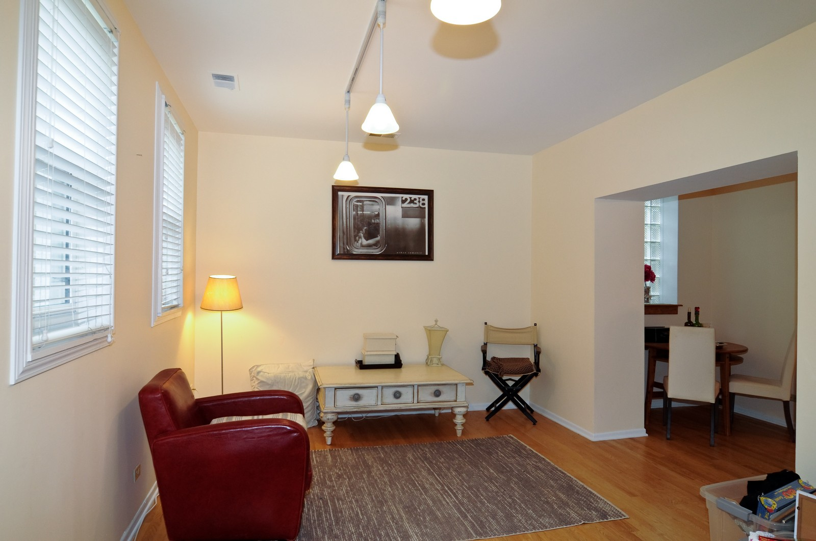 Real Estate Photography - 1743 N Cleveland, Unit 1R, Chicago, IL, 60614 - Living Room