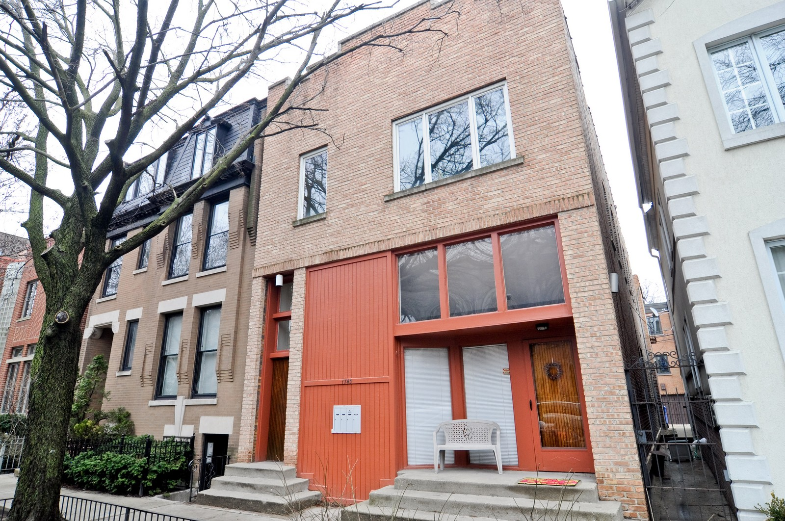 Real Estate Photography - 1743 N Cleveland, Unit 1R, Chicago, IL, 60614 - Front View