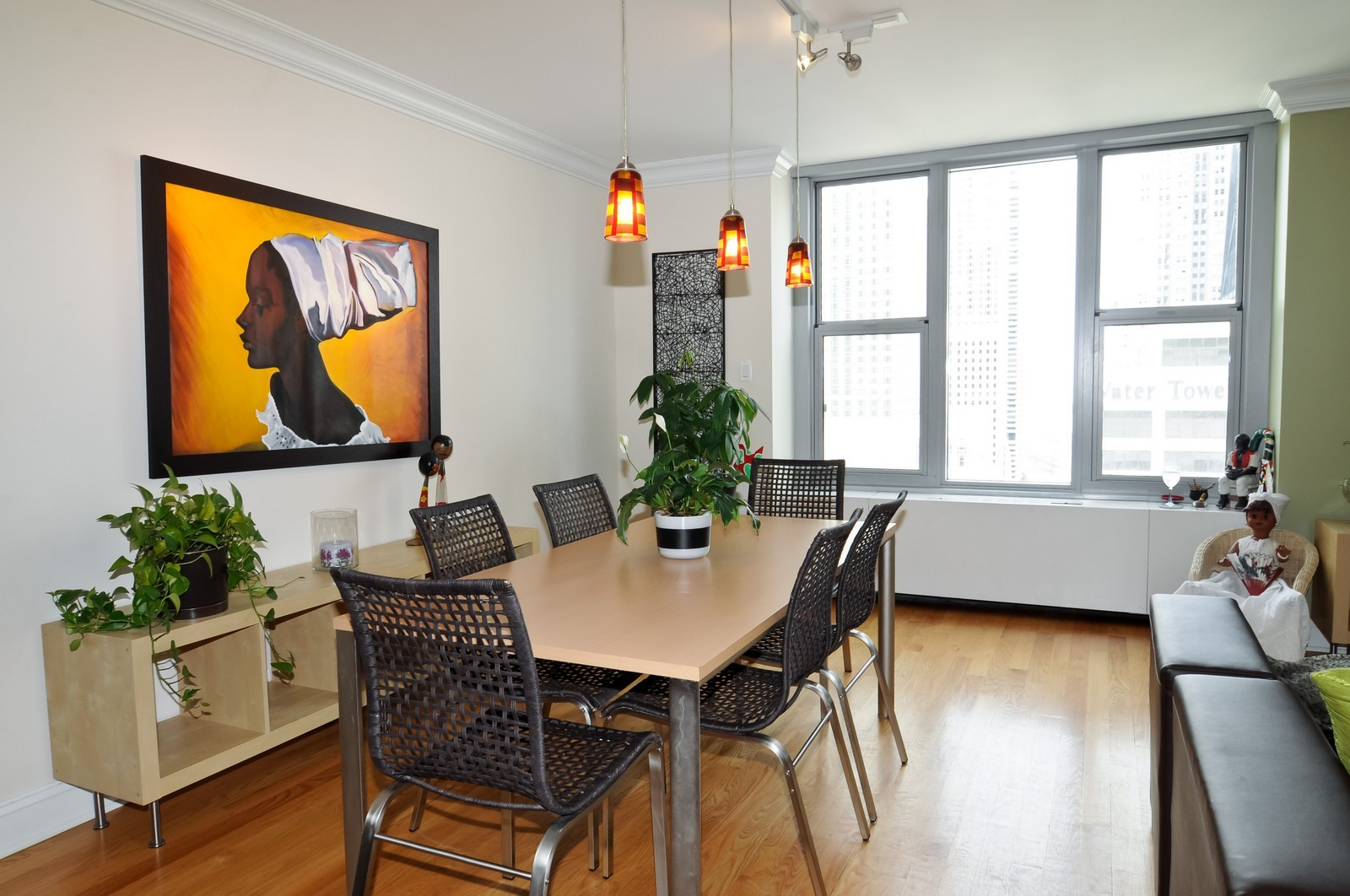 Real Estate Photography - 777 N. Michigan Ave., 2000, Chicago, IL, 60611 - Dining Room