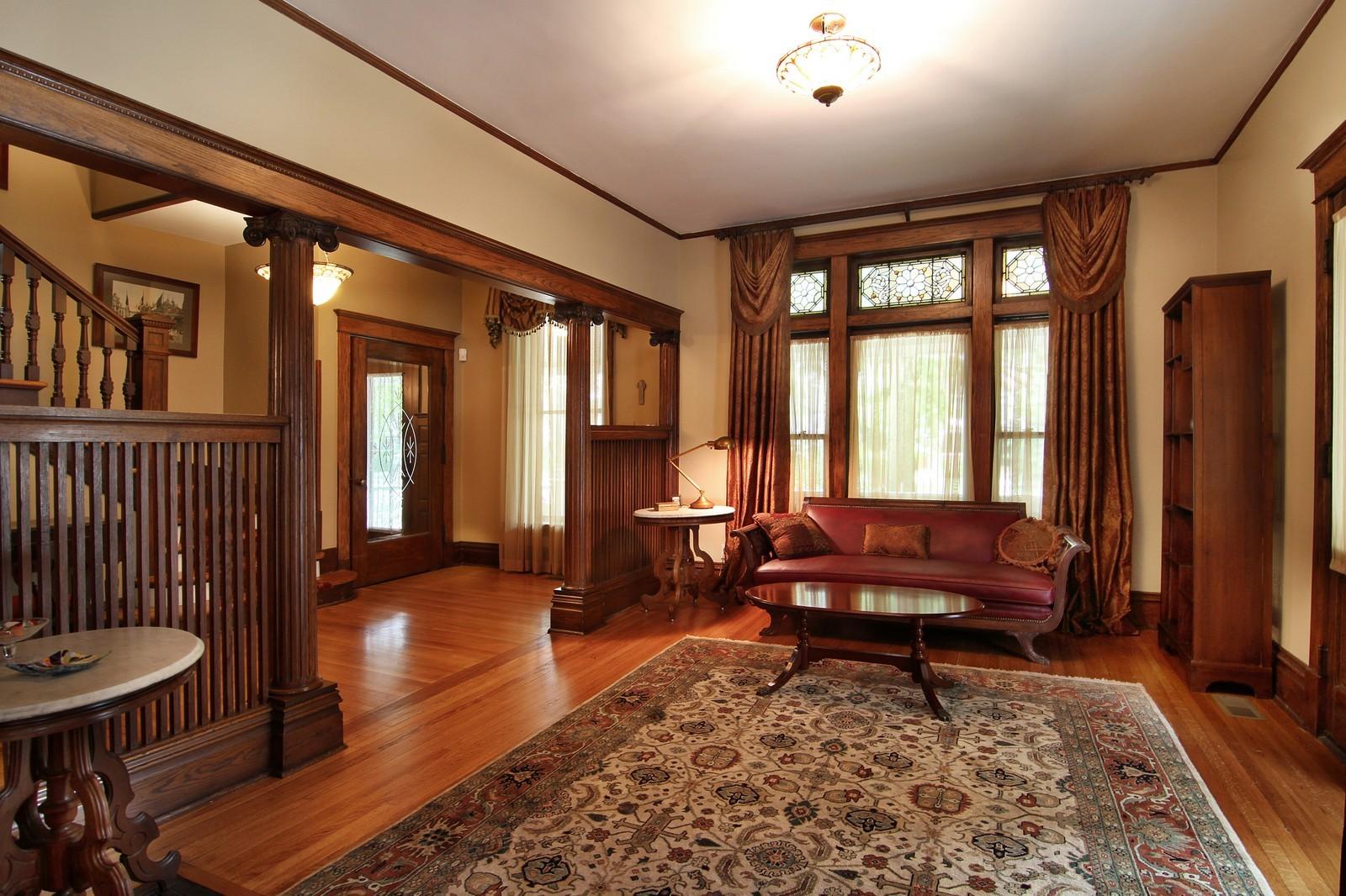 Real Estate Photography - 228 LaGrange Rd, La Grange, IL, 60525 - Living Room