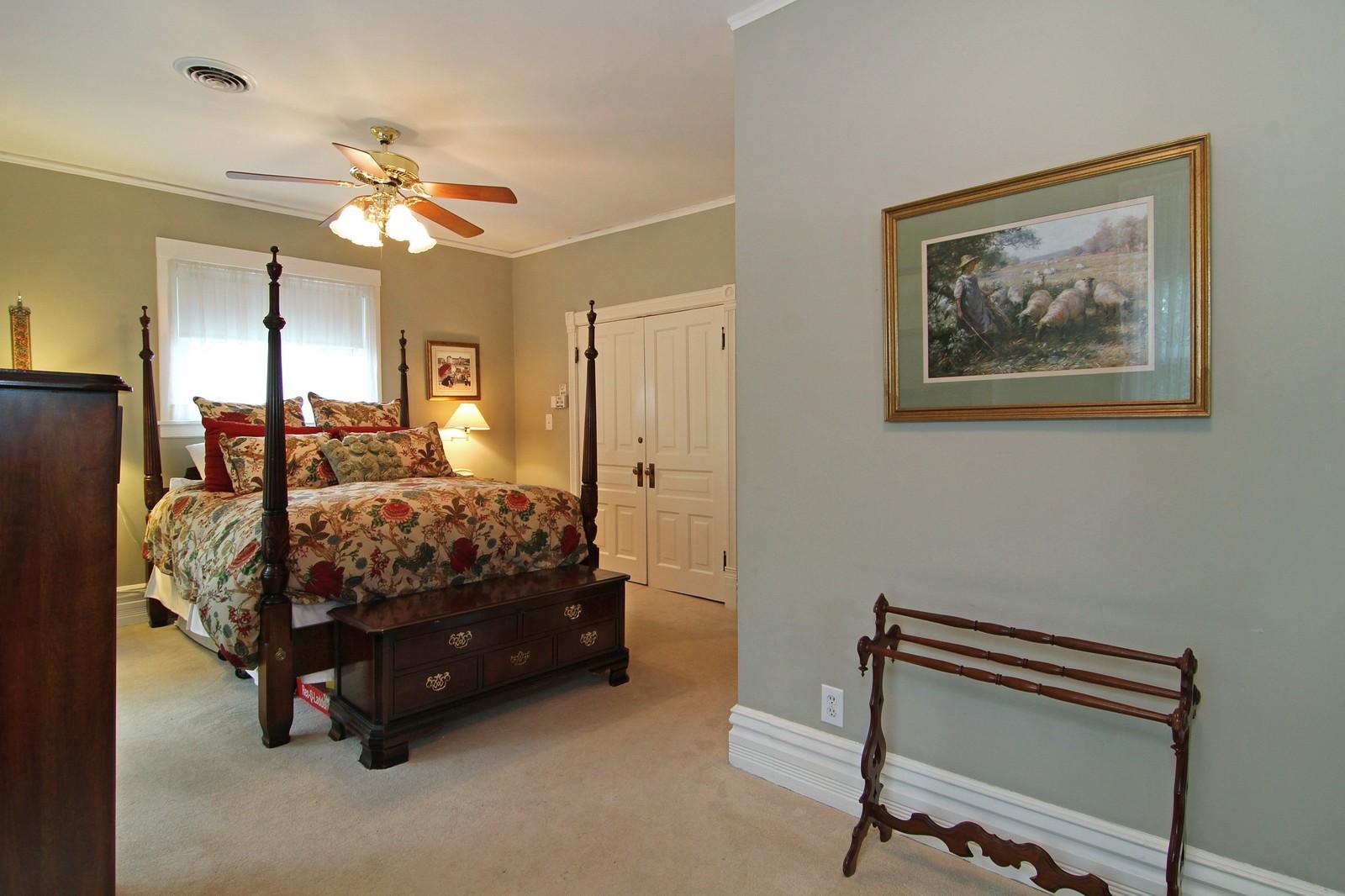 Real Estate Photography - 228 LaGrange Rd, La Grange, IL, 60525 - Master Bedroom