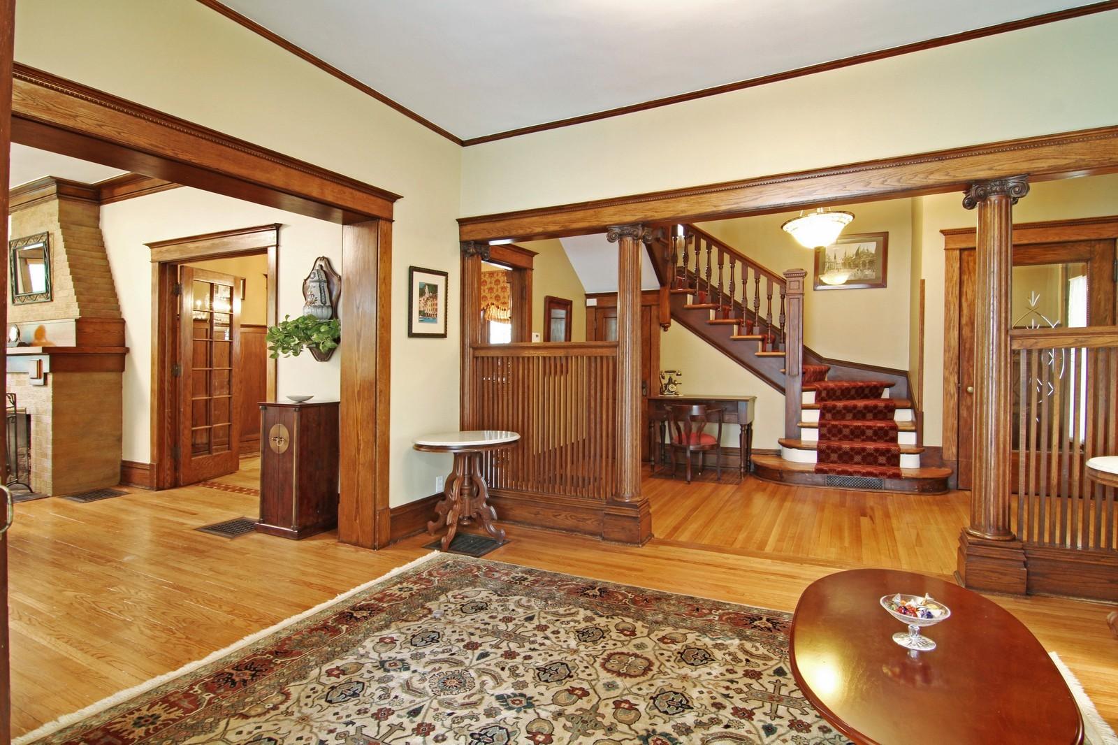 Real Estate Photography - 228 LaGrange Rd, La Grange, IL, 60525 - Living Rm/Family Rm