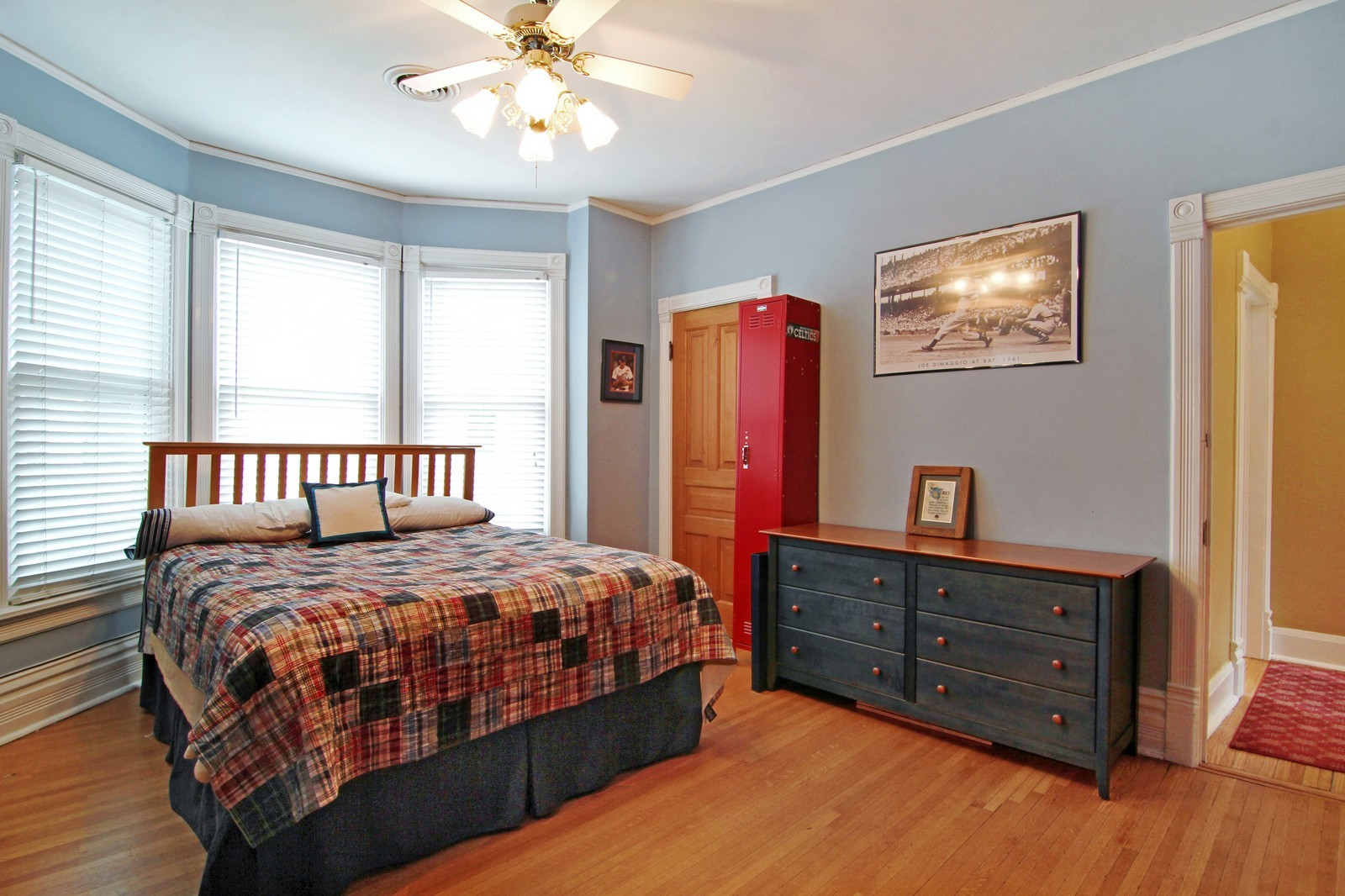 Real Estate Photography - 228 LaGrange Rd, La Grange, IL, 60525 - 2nd Bedroom