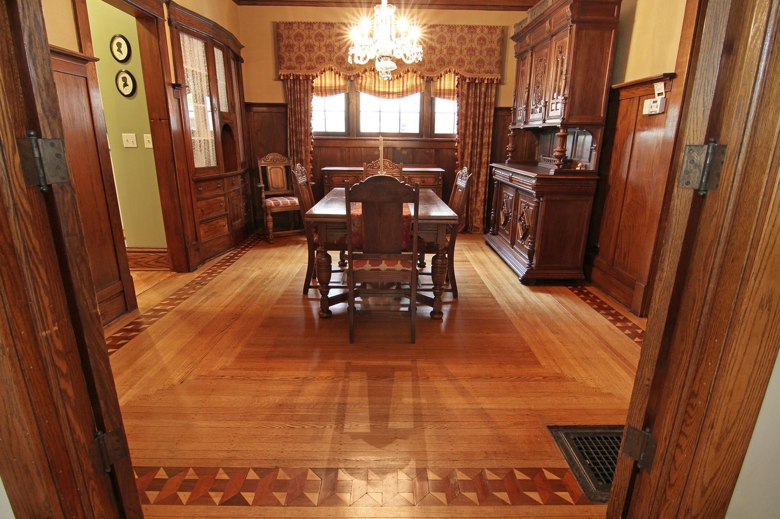 Real Estate Photography - 228 LaGrange Rd, La Grange, IL, 60525 - Dining Room