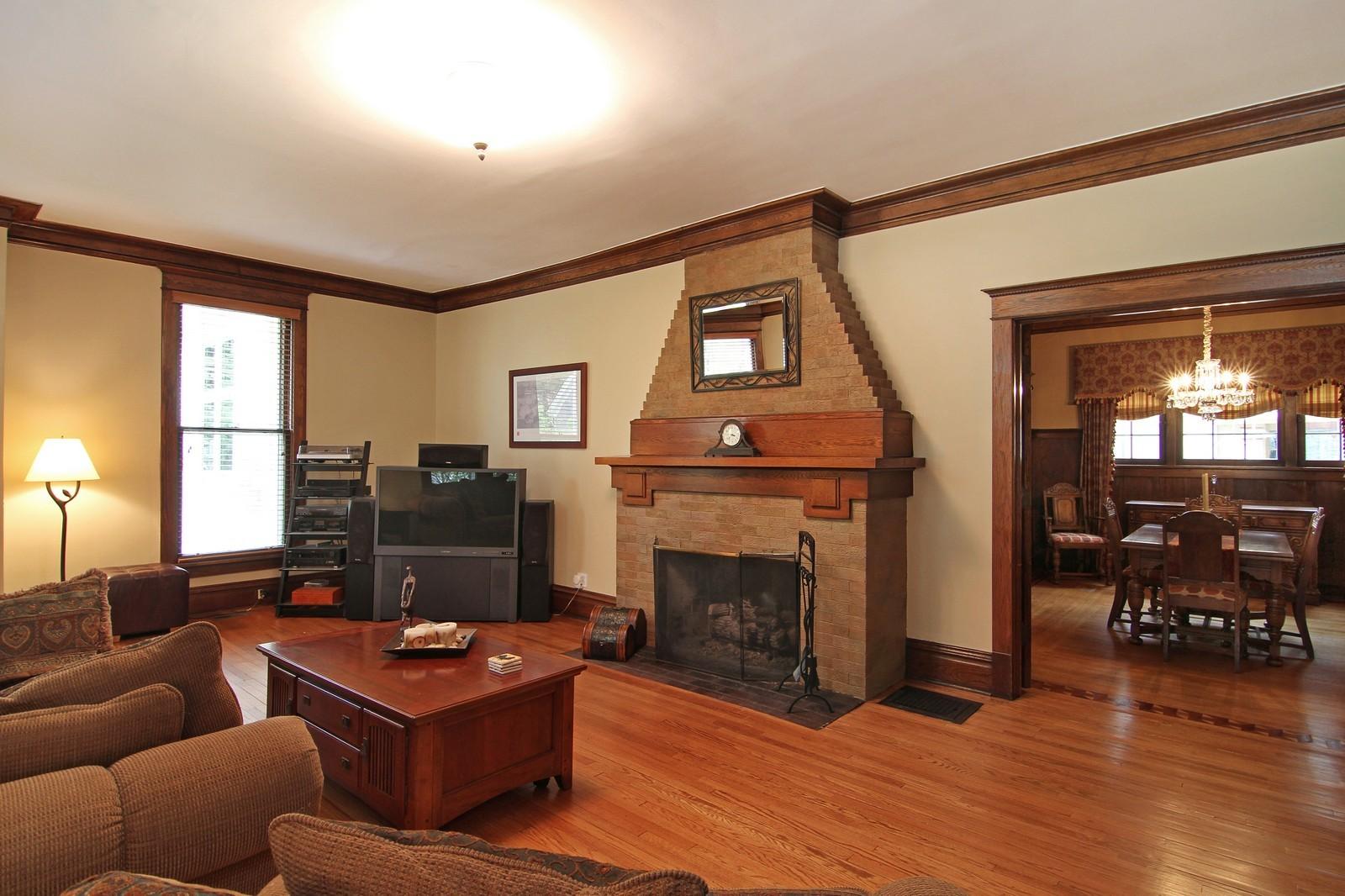 Real Estate Photography - 228 LaGrange Rd, La Grange, IL, 60525 - Family Room