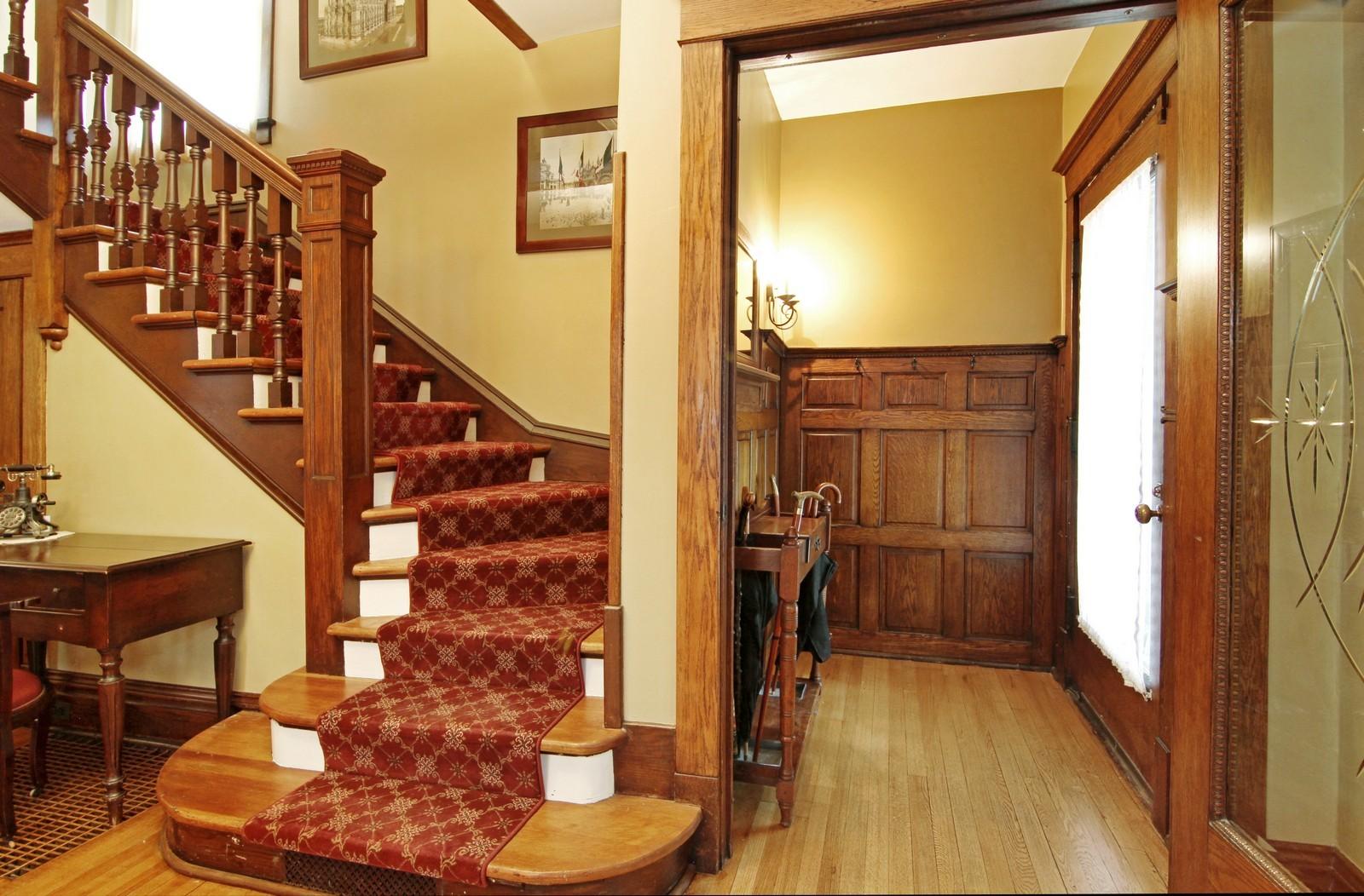 Real Estate Photography - 228 LaGrange Rd, La Grange, IL, 60525 - Foyer