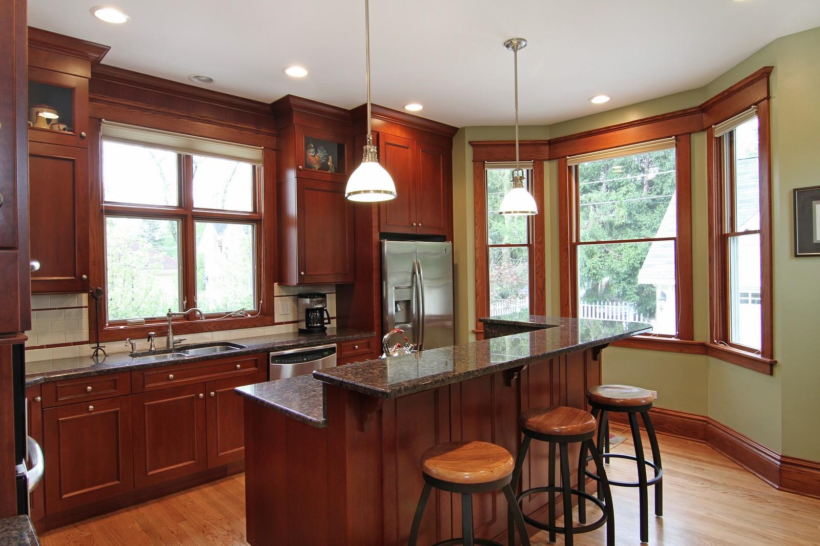 Real Estate Photography - 228 LaGrange Rd, La Grange, IL, 60525 - Kitchen