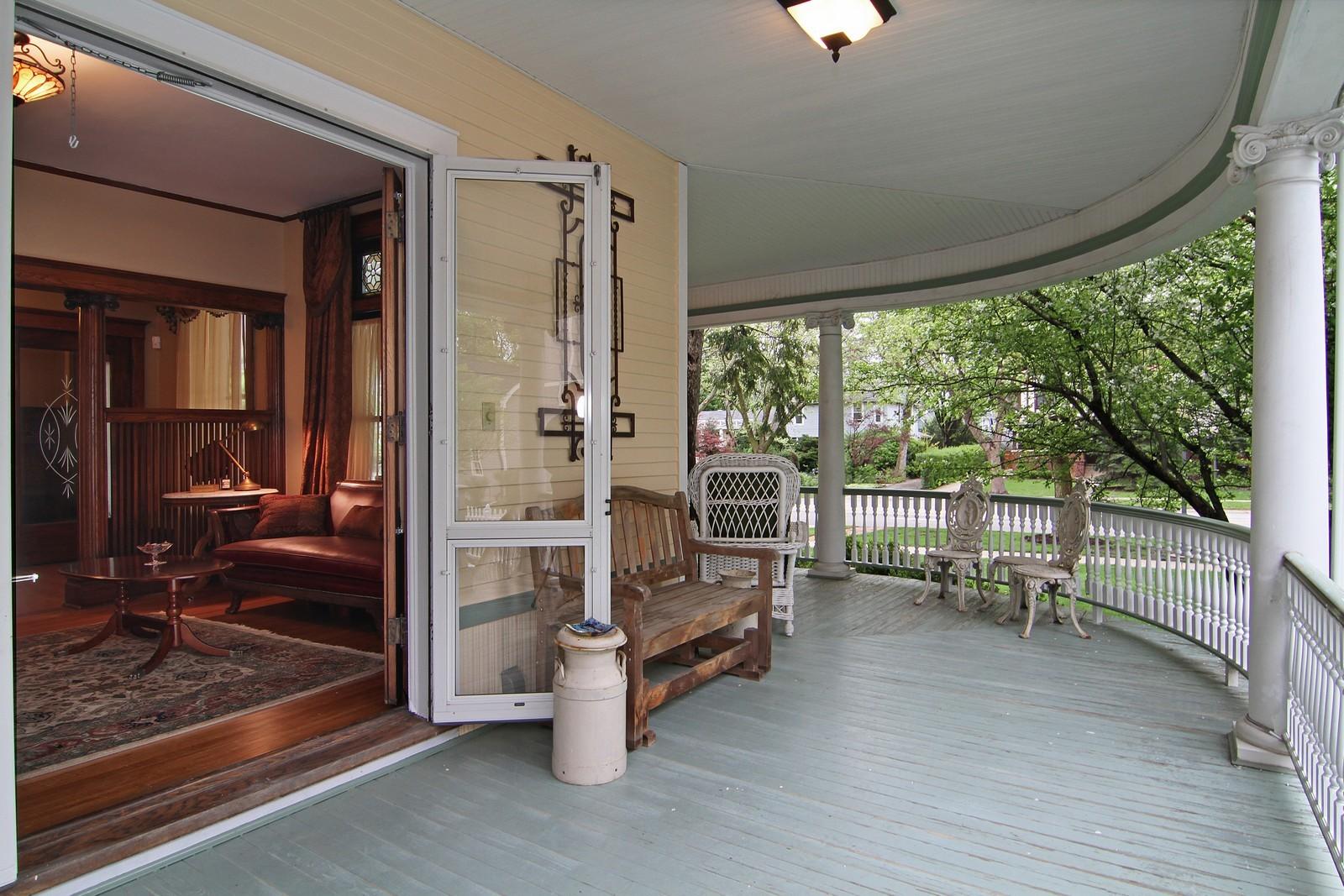 Real Estate Photography - 228 LaGrange Rd, La Grange, IL, 60525 - Porch