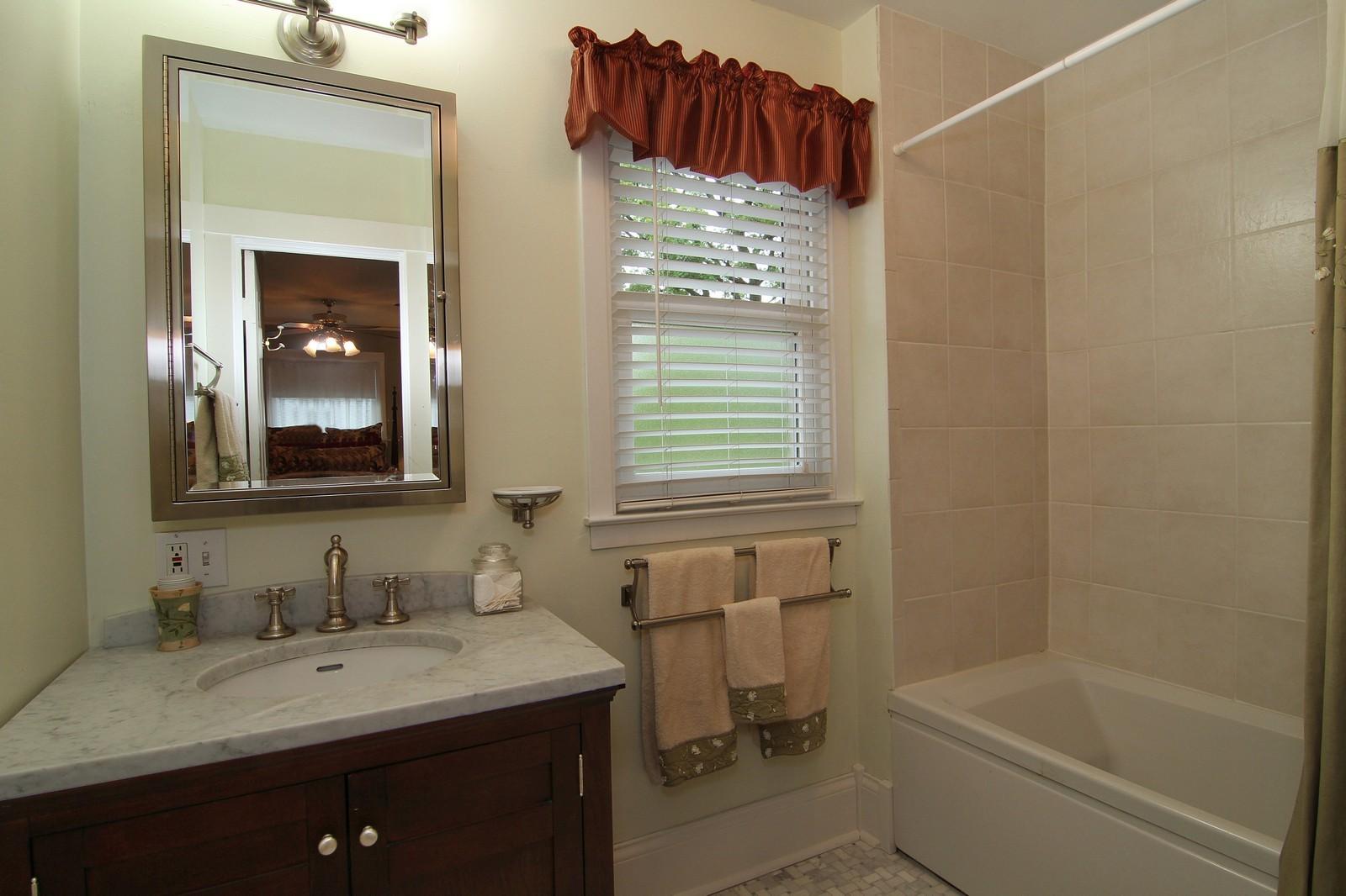 Real Estate Photography - 228 LaGrange Rd, La Grange, IL, 60525 - Bathroom