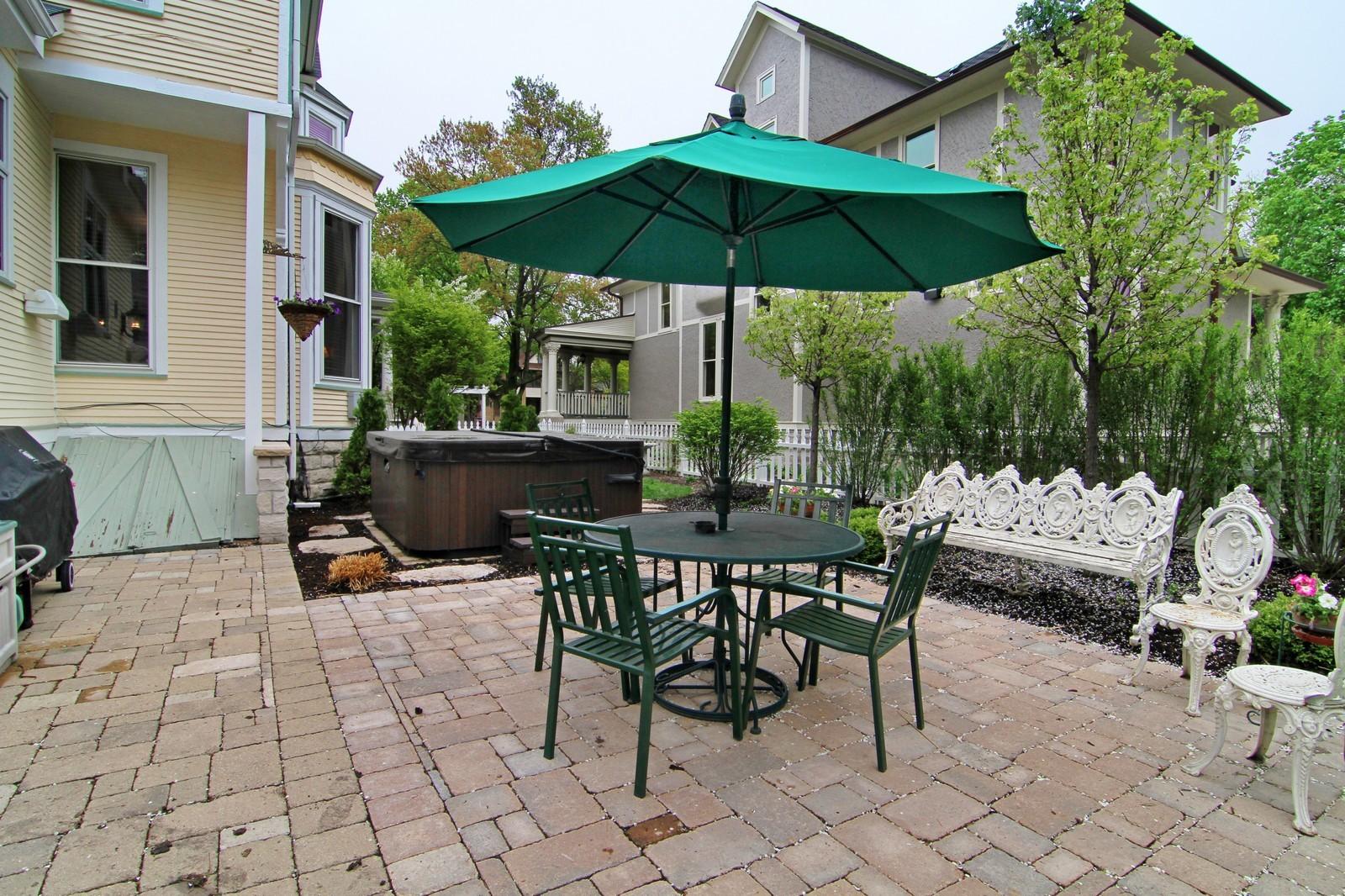 Real Estate Photography - 228 LaGrange Rd, La Grange, IL, 60525 - Patio