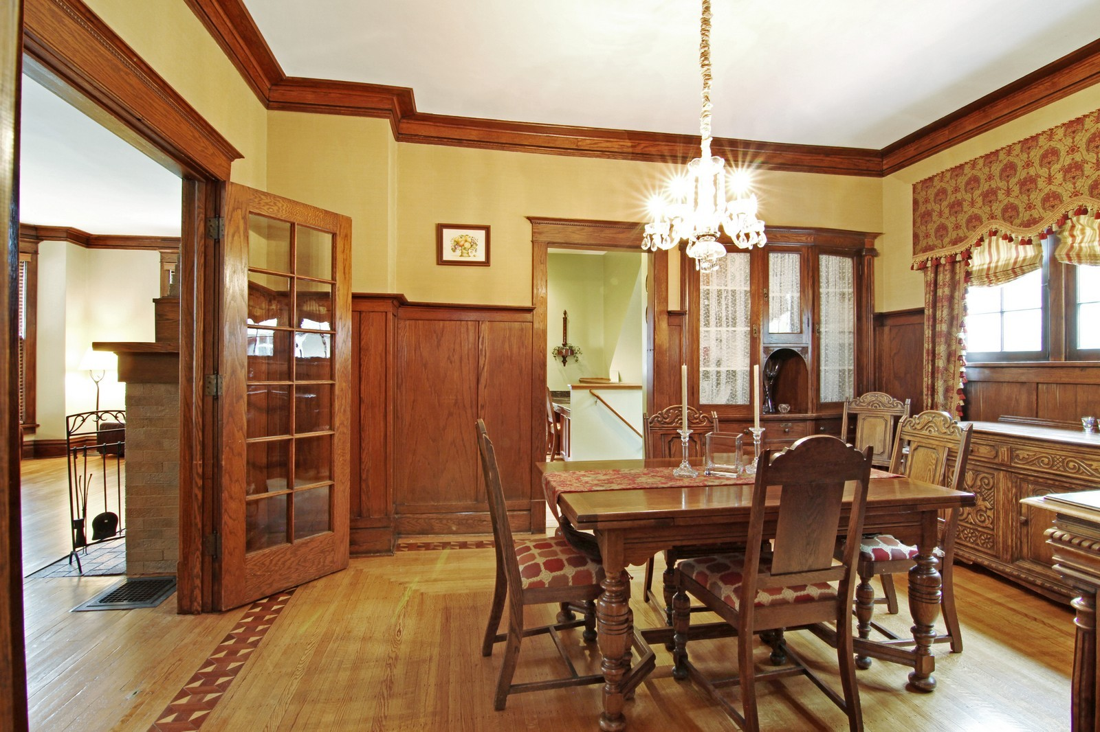 Real Estate Photography - 228 LaGrange Rd, La Grange, IL, 60525 - Kitchen / Dining Room