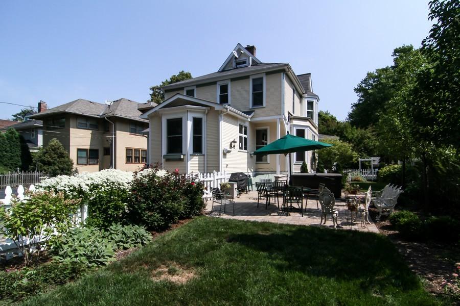 Real Estate Photography - 228 LaGrange Rd, La Grange, IL, 60525 - Rear View
