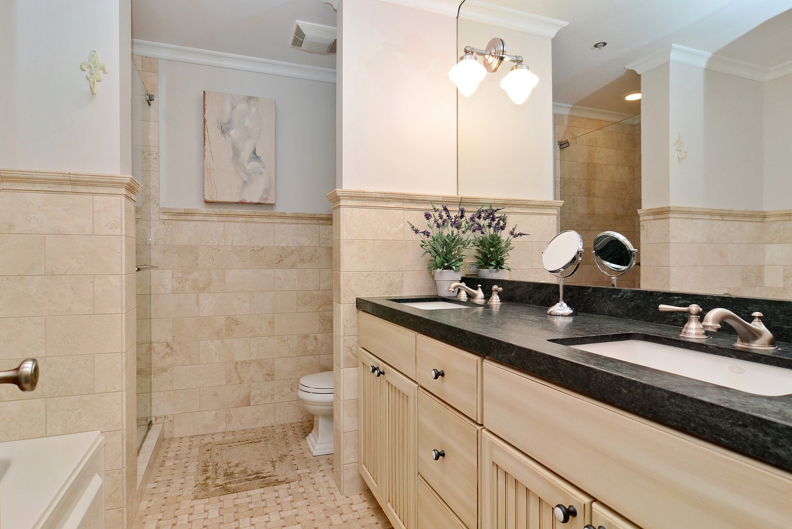 Real Estate Photography - 525 W. Superior #527, Chicago, IL, 60654 - Master Bathroom