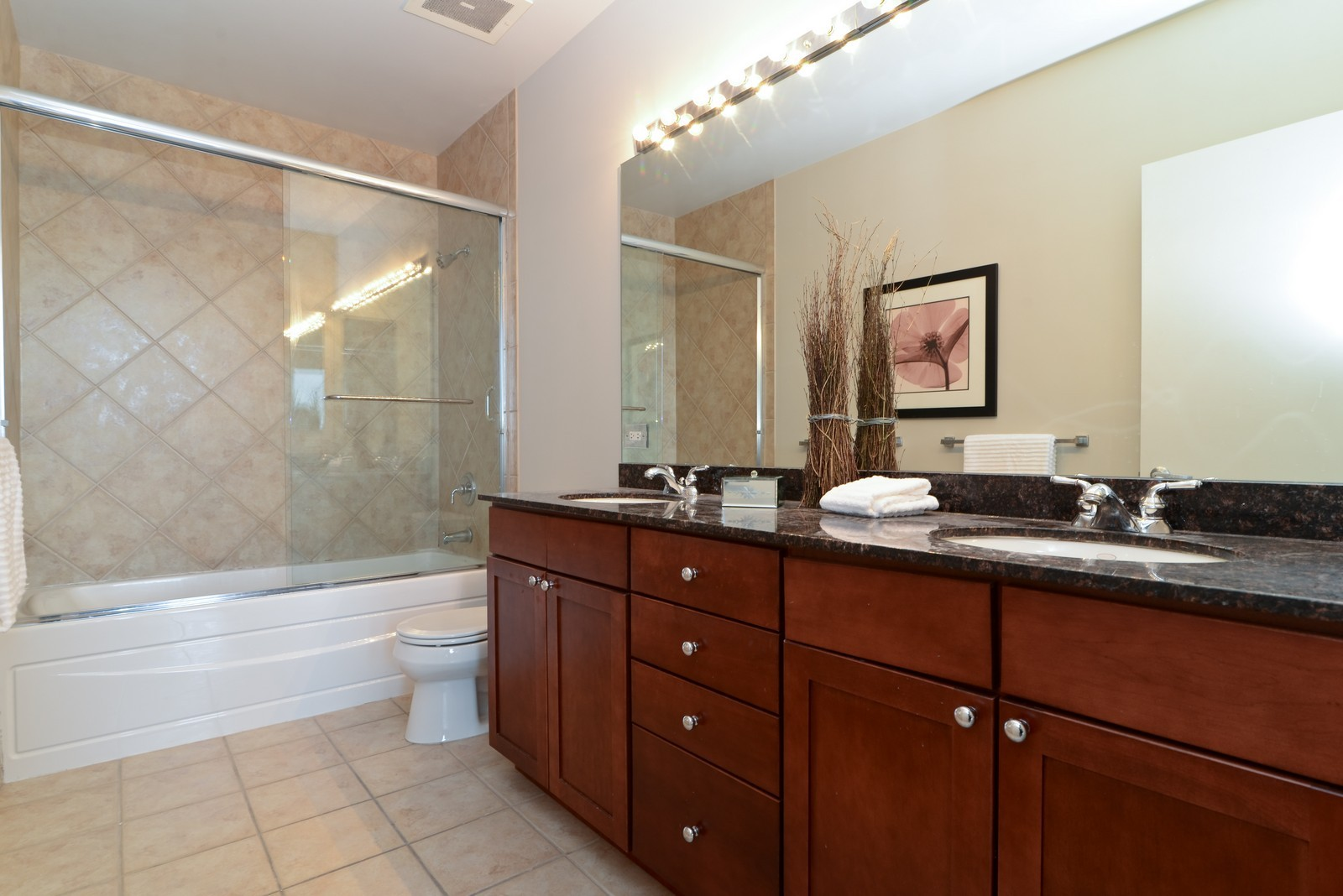Real Estate Photography - 720 N Larrabee, Apt 1013, Chicago, IL, 60654 - Master Bathroom