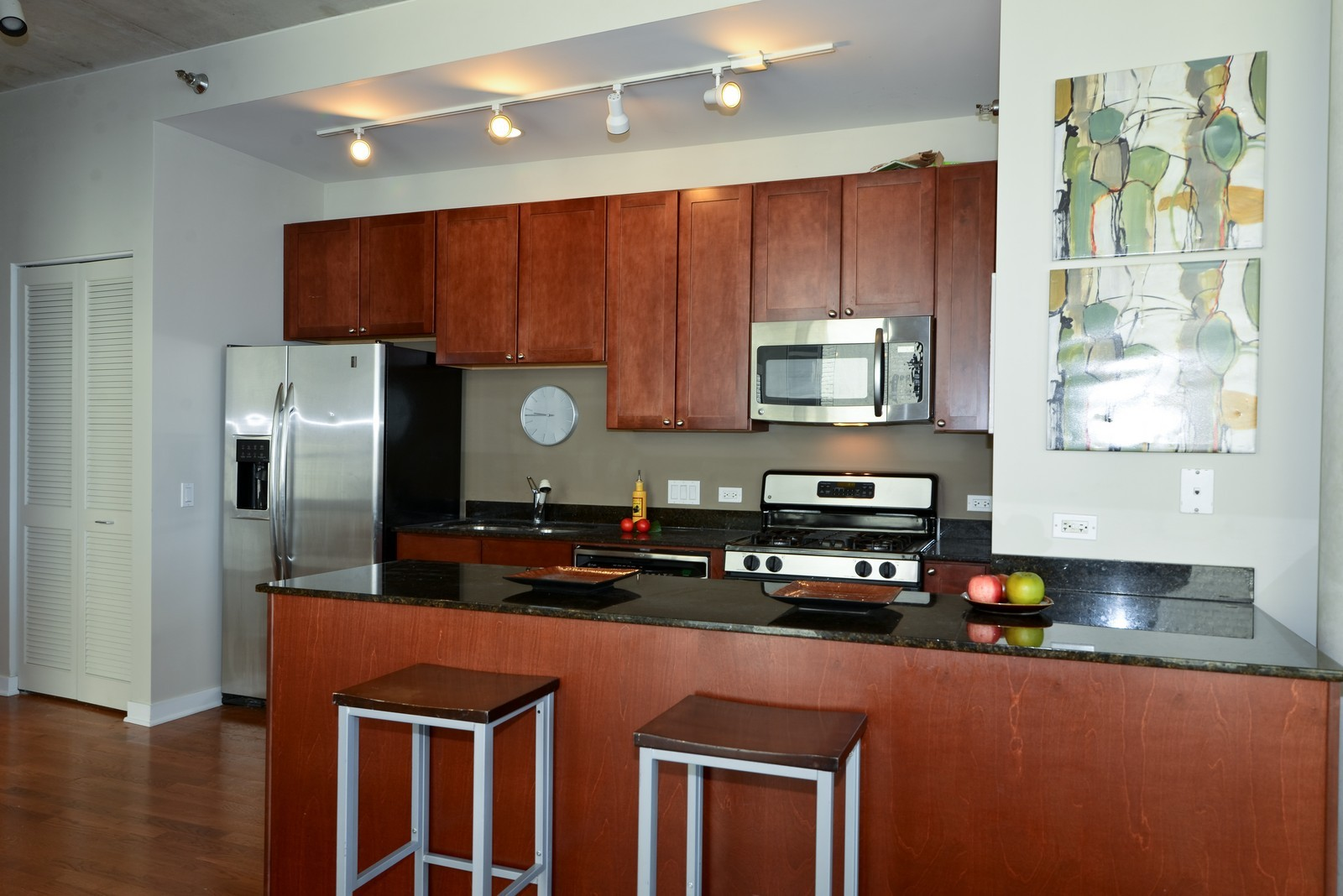 Real Estate Photography - 720 N Larrabee, Apt 1013, Chicago, IL, 60654 - Kitchen