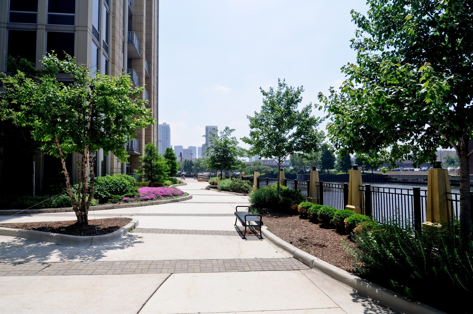 Real Estate Photography - 720 N Larrabee, Apt 1013, Chicago, IL, 60654 - River View