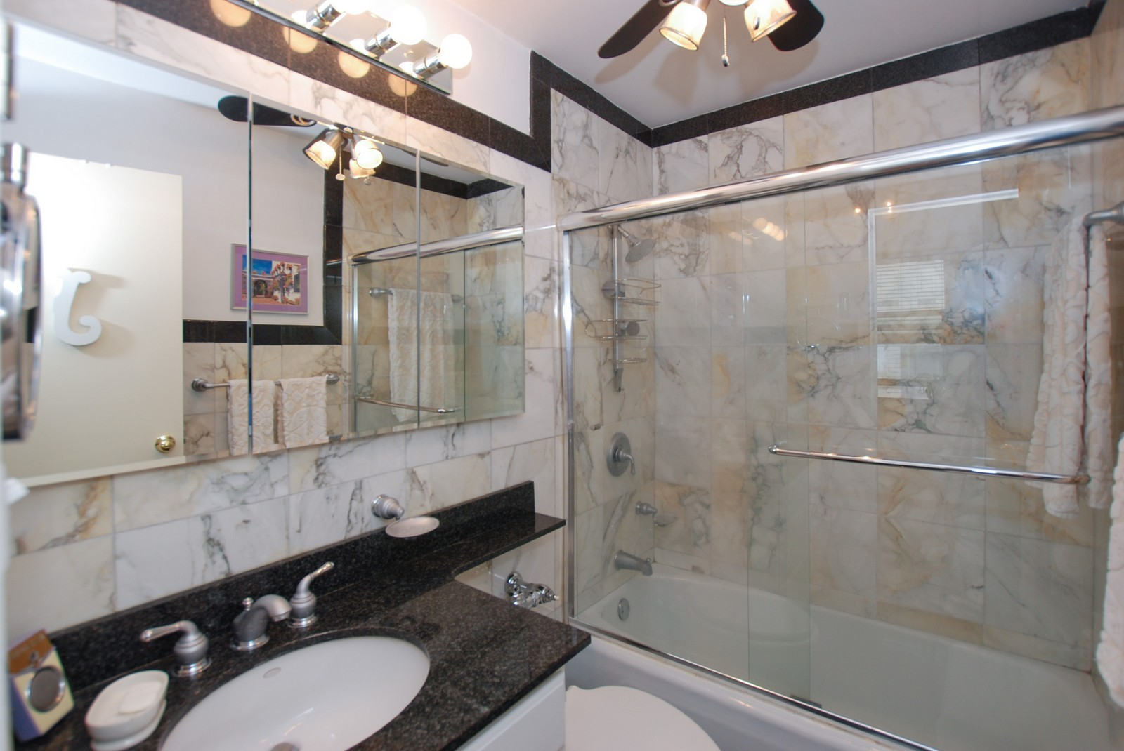 Real Estate Photography - 777 N Michigan Ave, Unit 701, Chicago, IL, 60611 - Master Bathroom