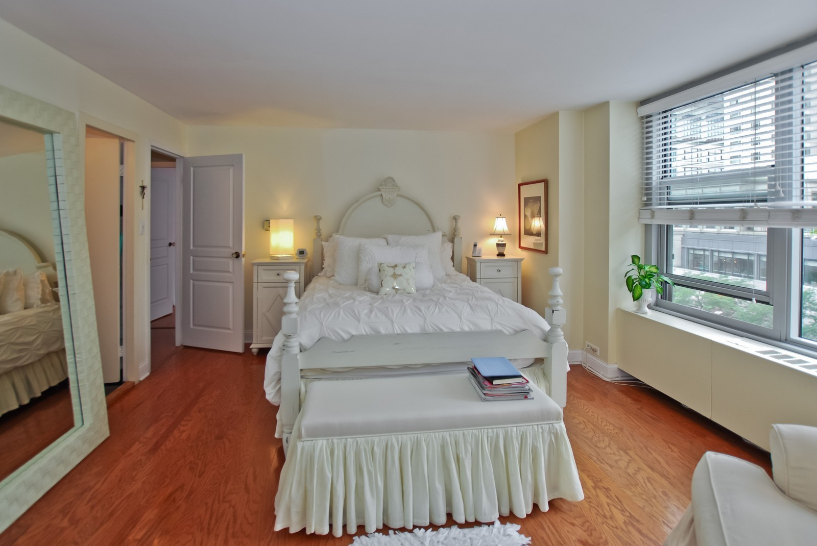 Real Estate Photography - 777 N Michigan Ave, Unit 701, Chicago, IL, 60611 - Master Bedroom