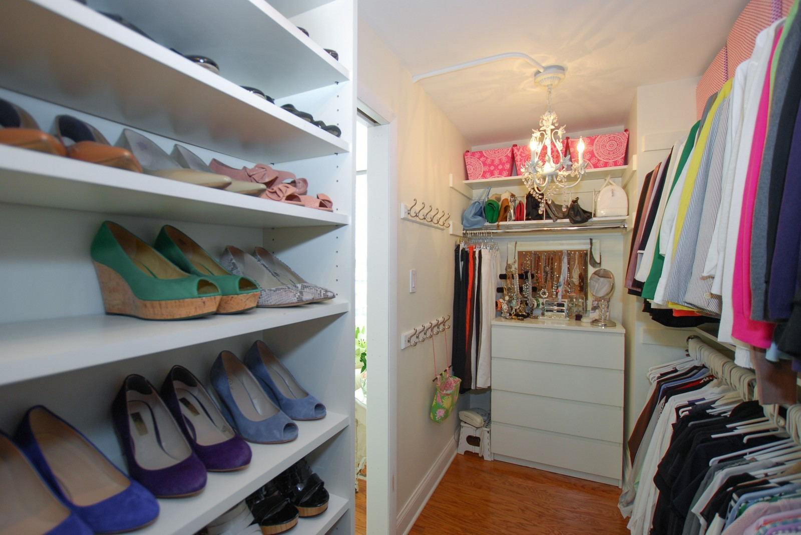 Real Estate Photography - 777 N Michigan Ave, Unit 701, Chicago, IL, 60611 - Closet