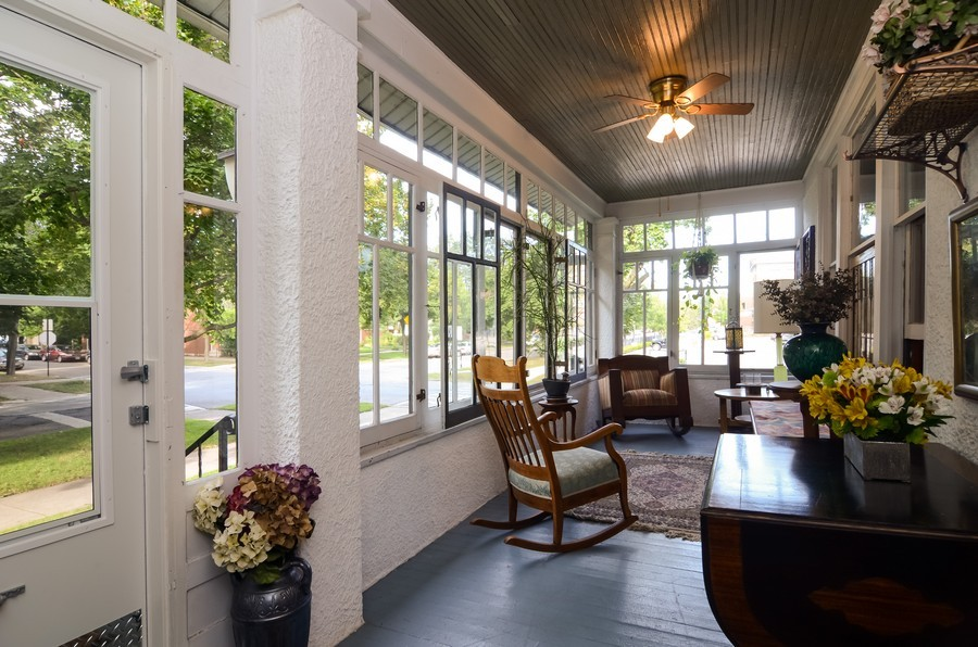 Real Estate Photography - 2201 W Estes, Chicago, IL, 60645 - Front Porch