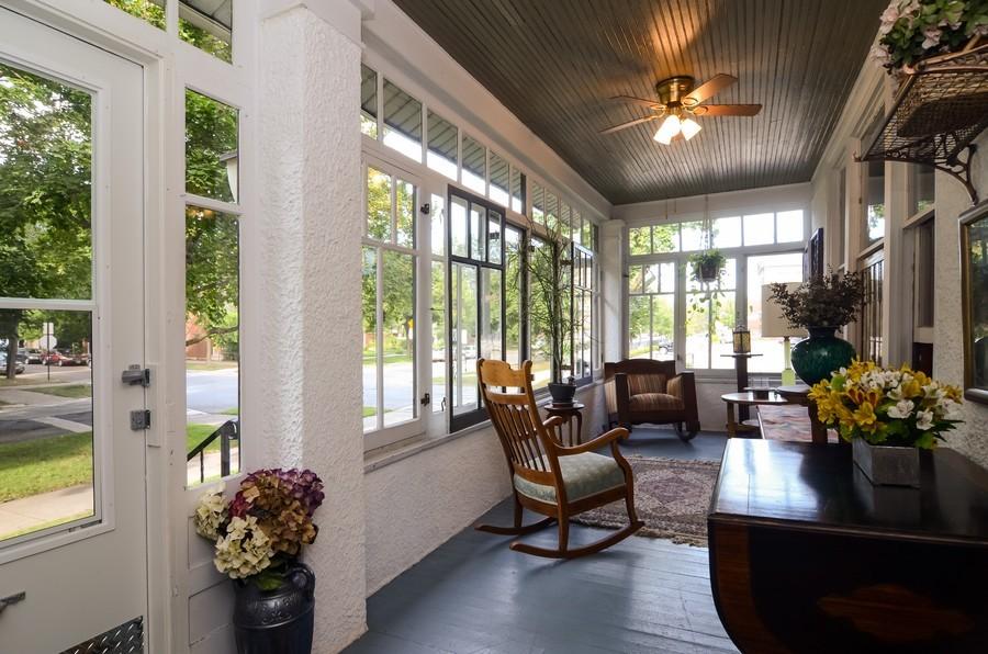 Real Estate Photography - 2201 W Estes, Chicago, IL, 60645 - Front Porch