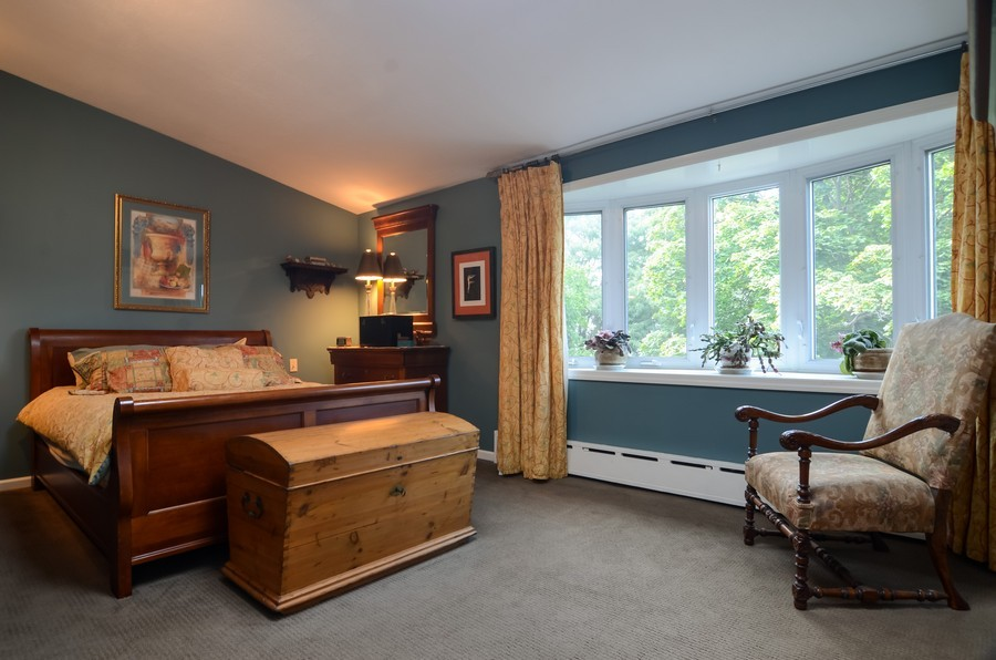 Real Estate Photography - 2201 W Estes, Chicago, IL, 60645 - Master Bedroom