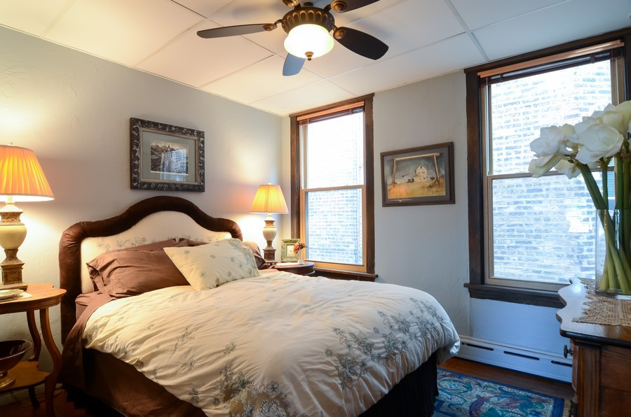 Real Estate Photography - 2201 W Estes, Chicago, IL, 60645 - 4th Bedroom