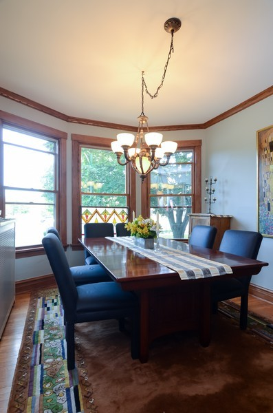 Real Estate Photography - 2201 W Estes, Chicago, IL, 60645 - Dining Room
