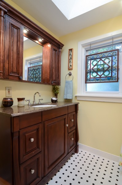 Real Estate Photography - 2201 W Estes, Chicago, IL, 60645 - Bathroom