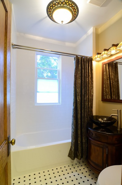 Real Estate Photography - 2201 W Estes, Chicago, IL, 60645 - 2nd Bathroom
